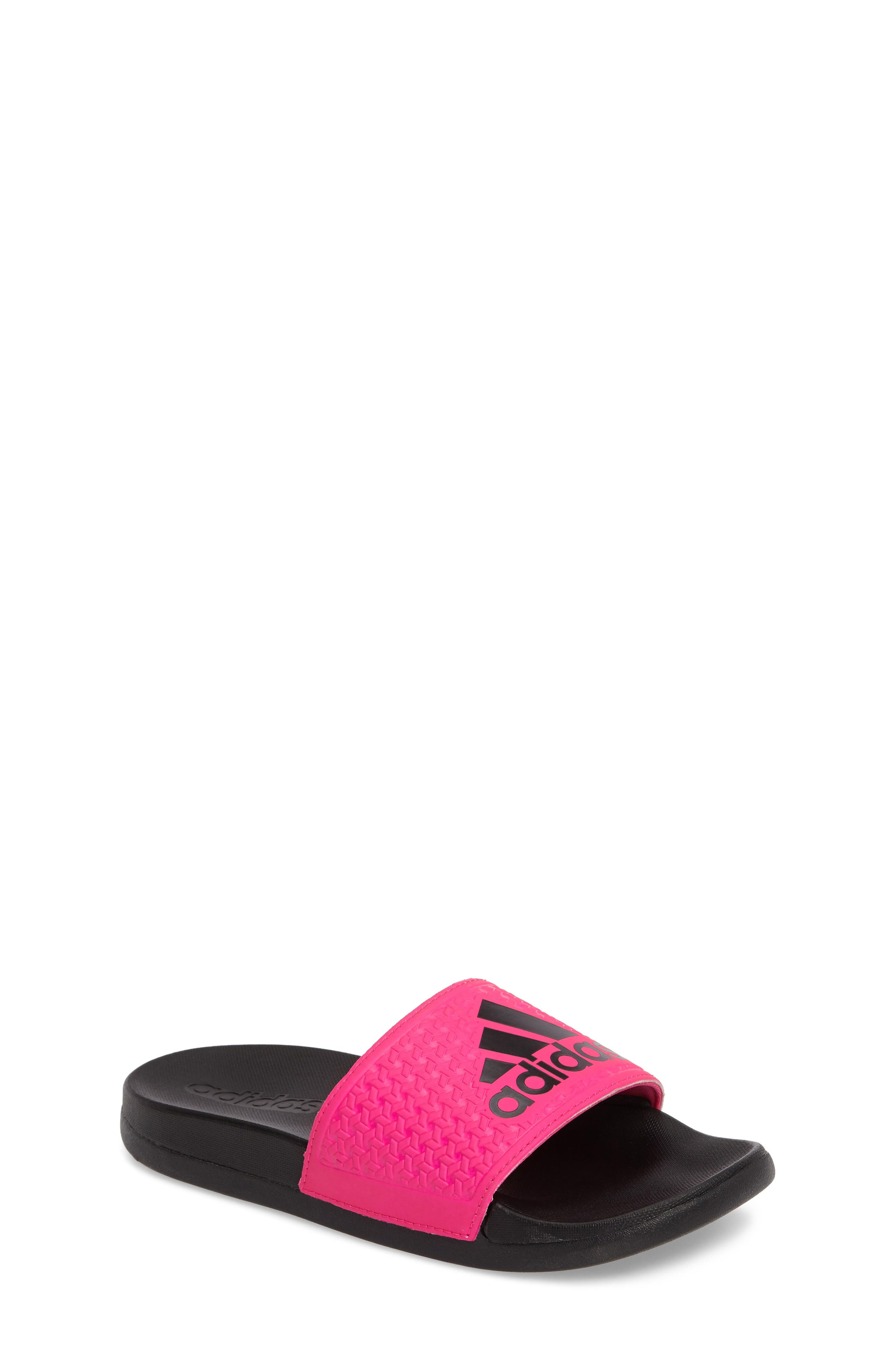 adidas Adilette Slide Sandal (Toddler, Little Kid & Big Kid)