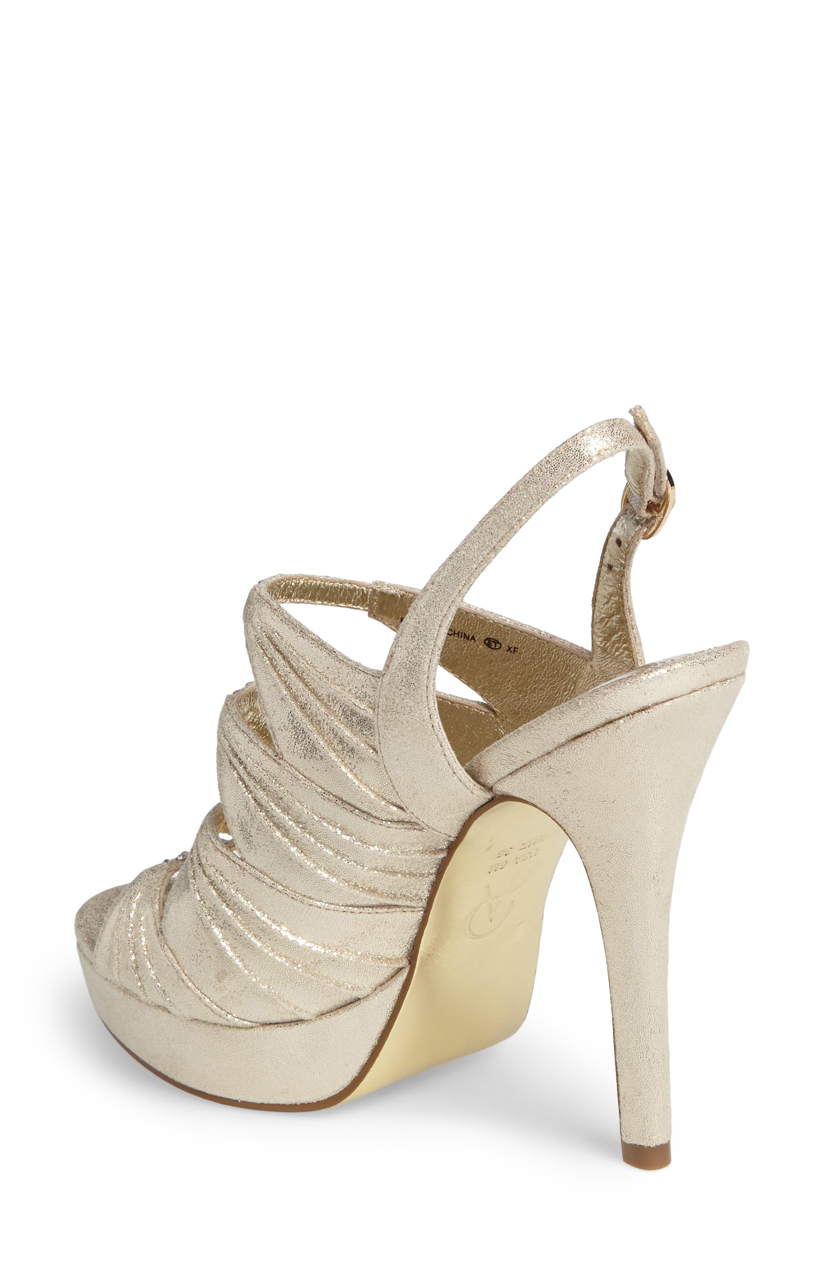 Alternate Image 2  - Adrianna Pappell Marissa Platform Sandal (Women)