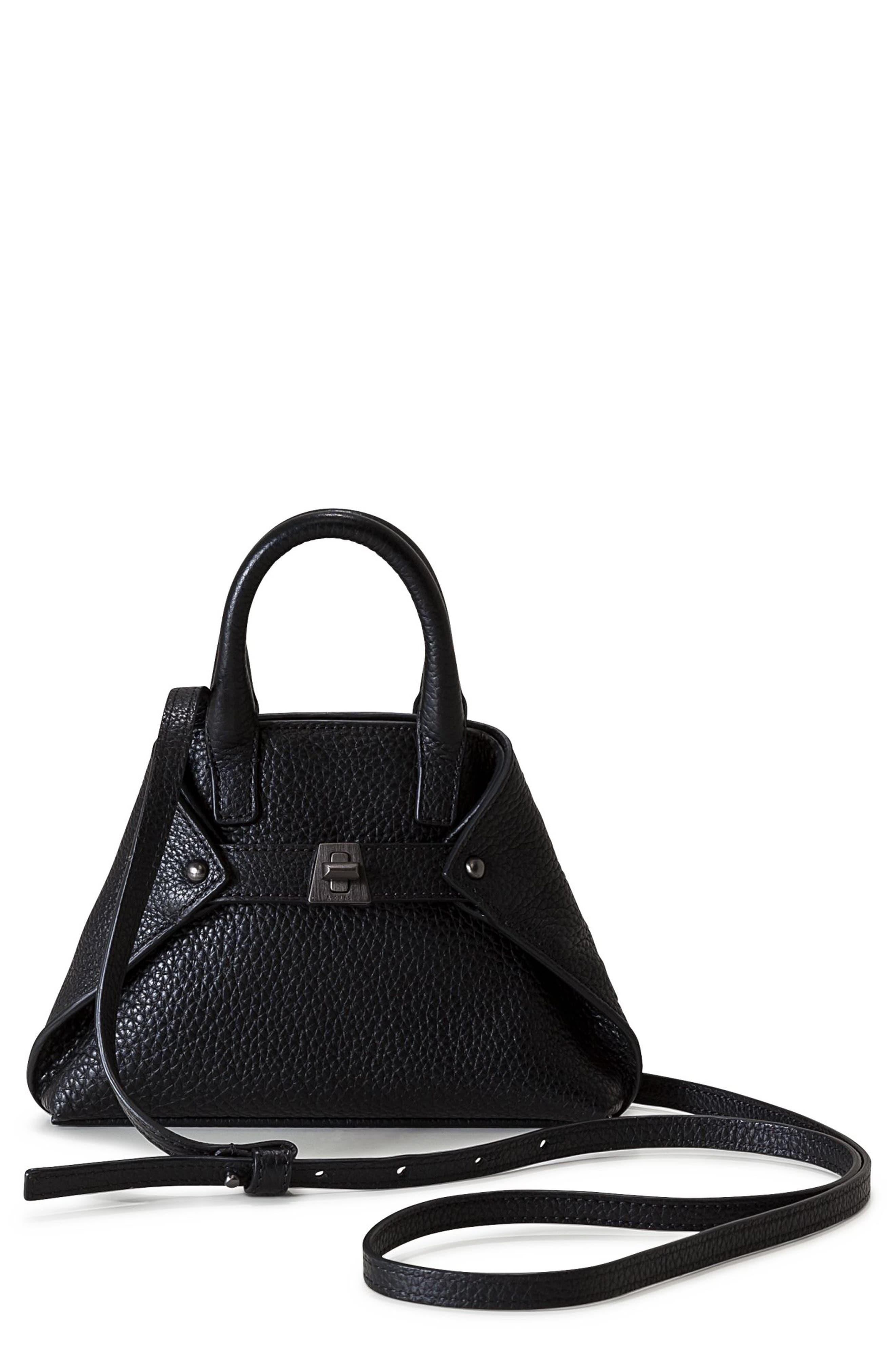 Akris Tasche Micro Leather Crossbody Bag