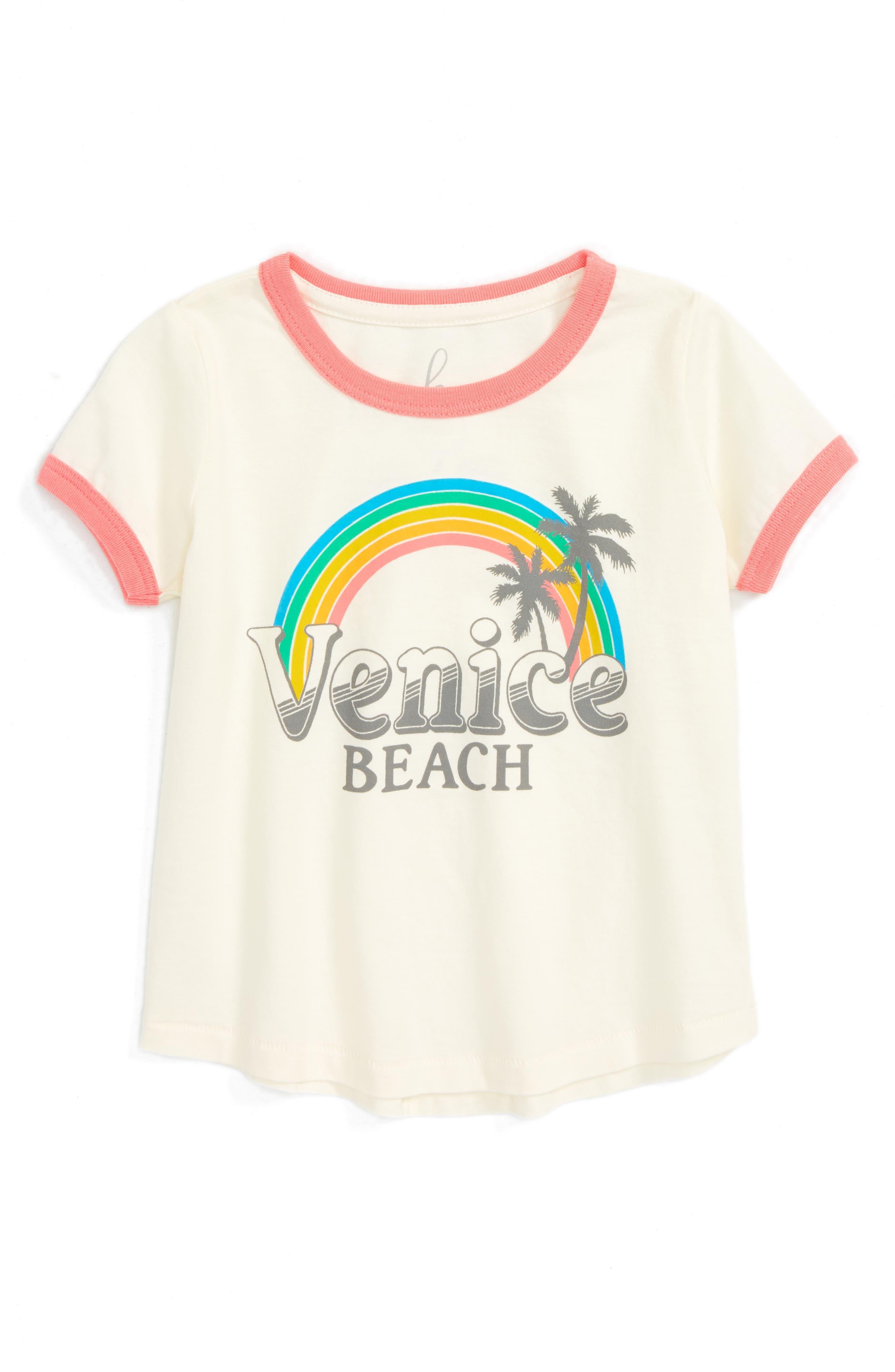 Peek Venice Beach Graphic Tee (Baby Girls)