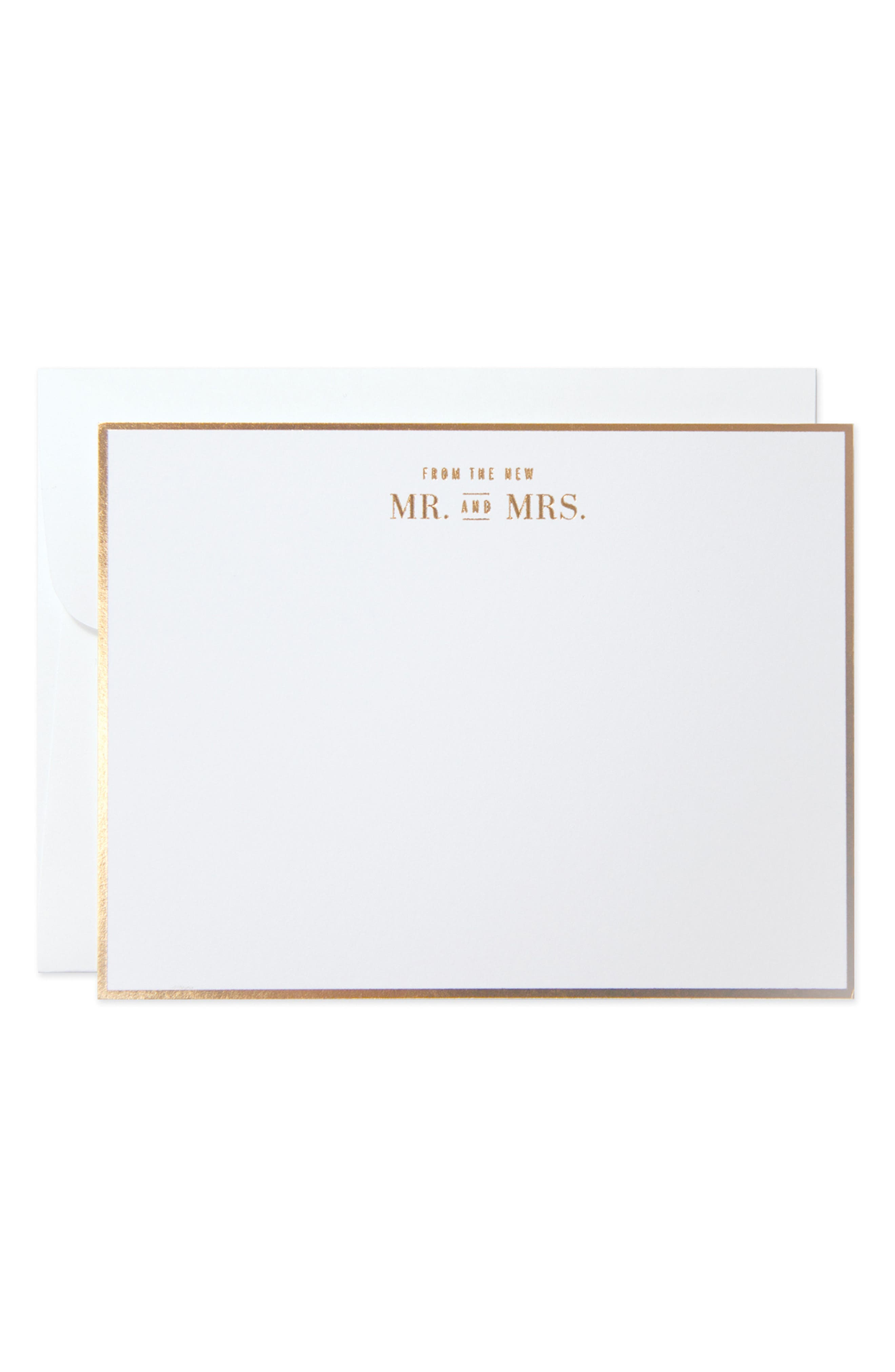 The Pink Orange From the New Mr. & Mrs. Cards