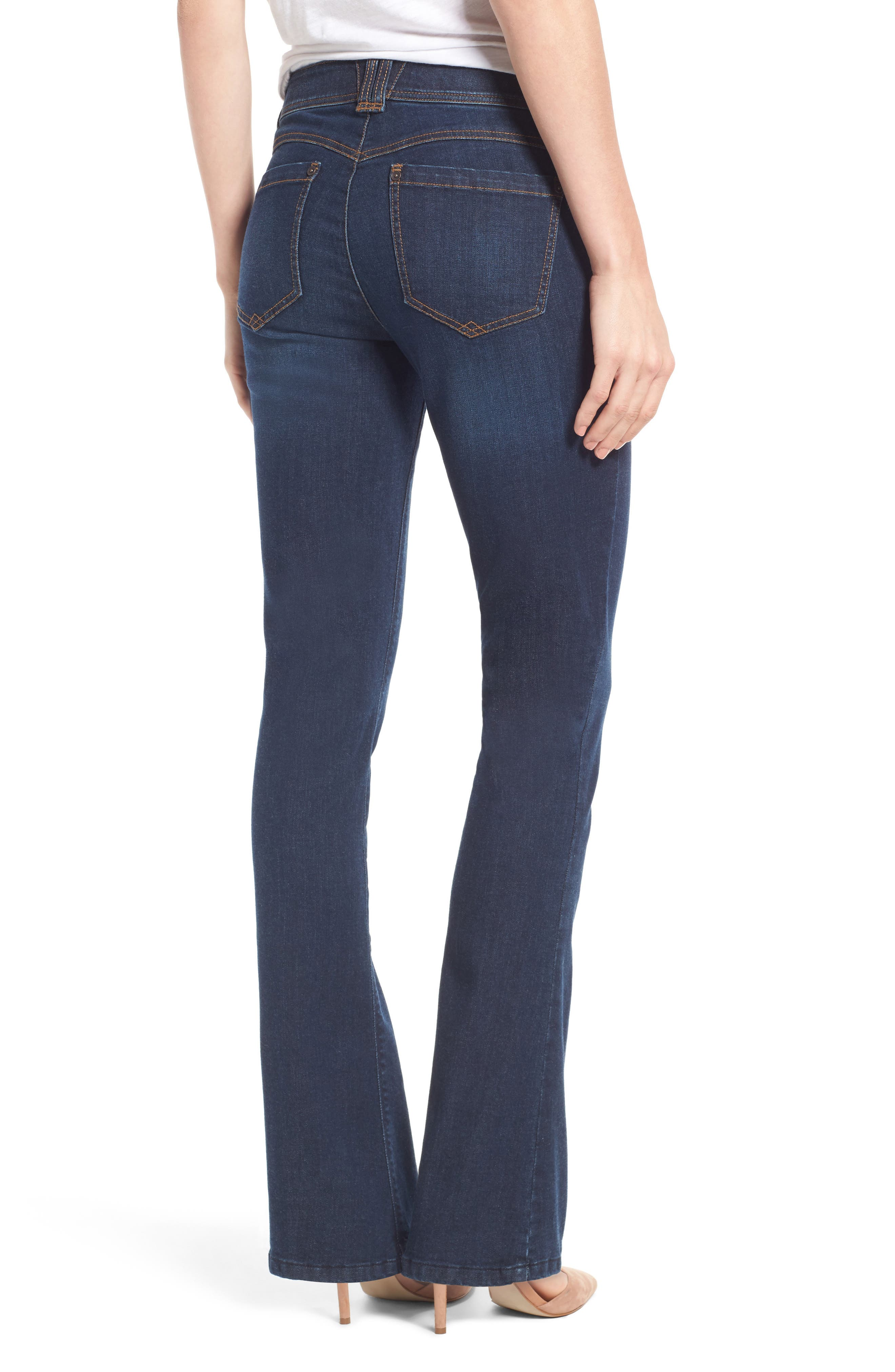 Alternate Image 3  - Wit & Wisdom Ab-solution Itty Bitty Bootcut Jeans (Regular & Petite) (Nordstrom Exclusive)