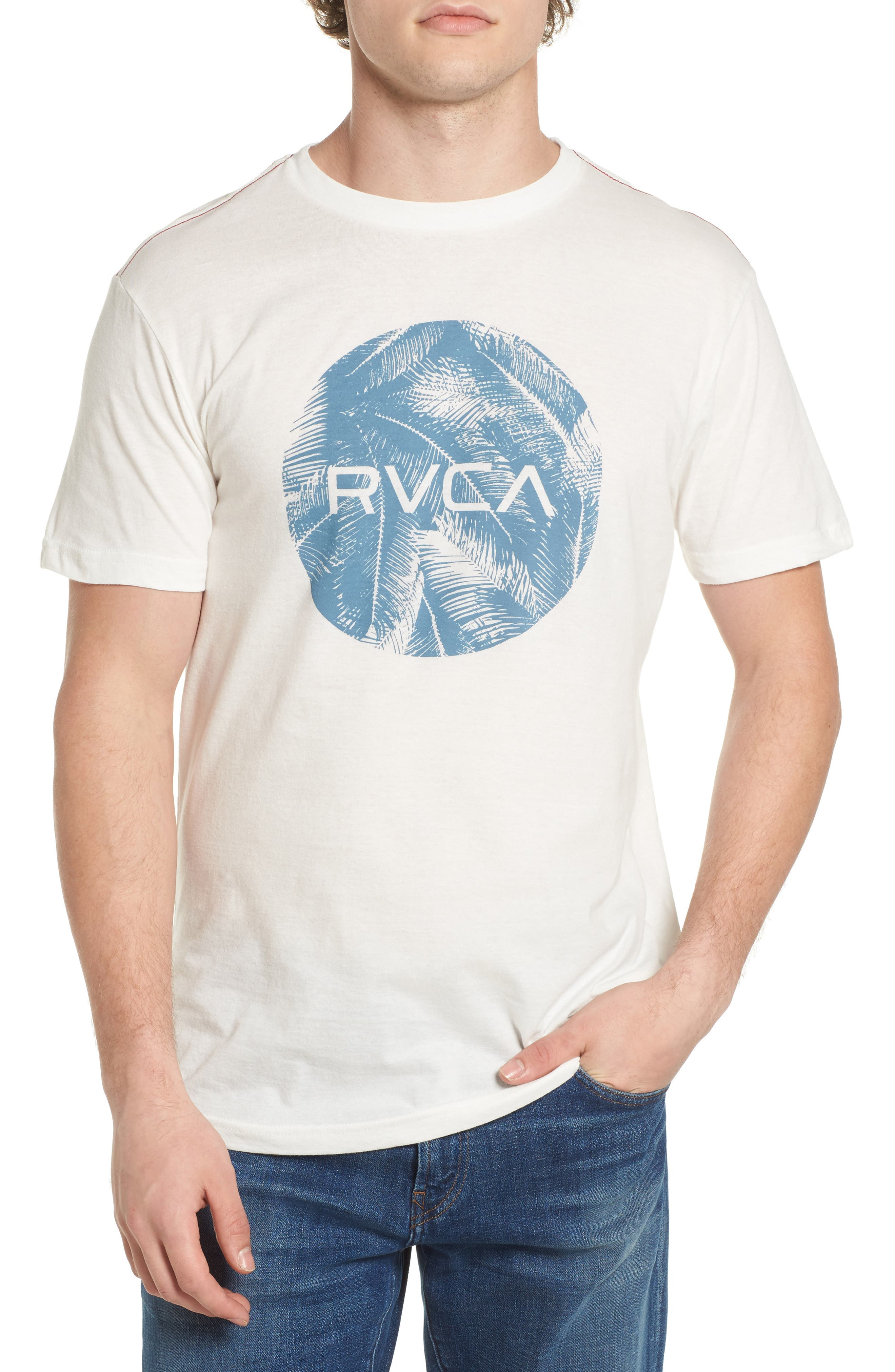 RVCA Motors Palm Graphic T-Shirt