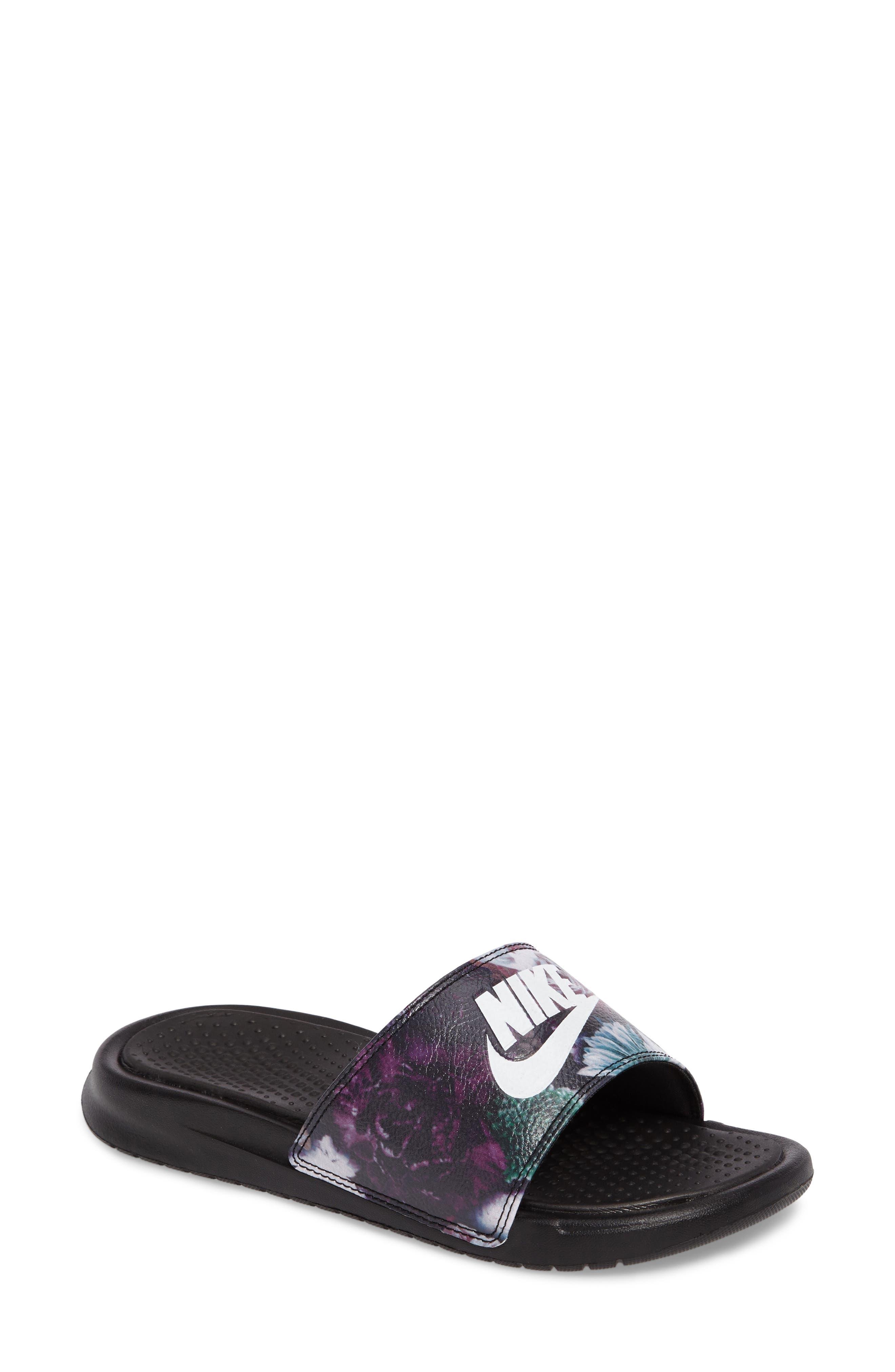 Alternate Image 1 Selected - Nike 'Benassi Just Do It Ultra Premium' Slide Sandal (Women)