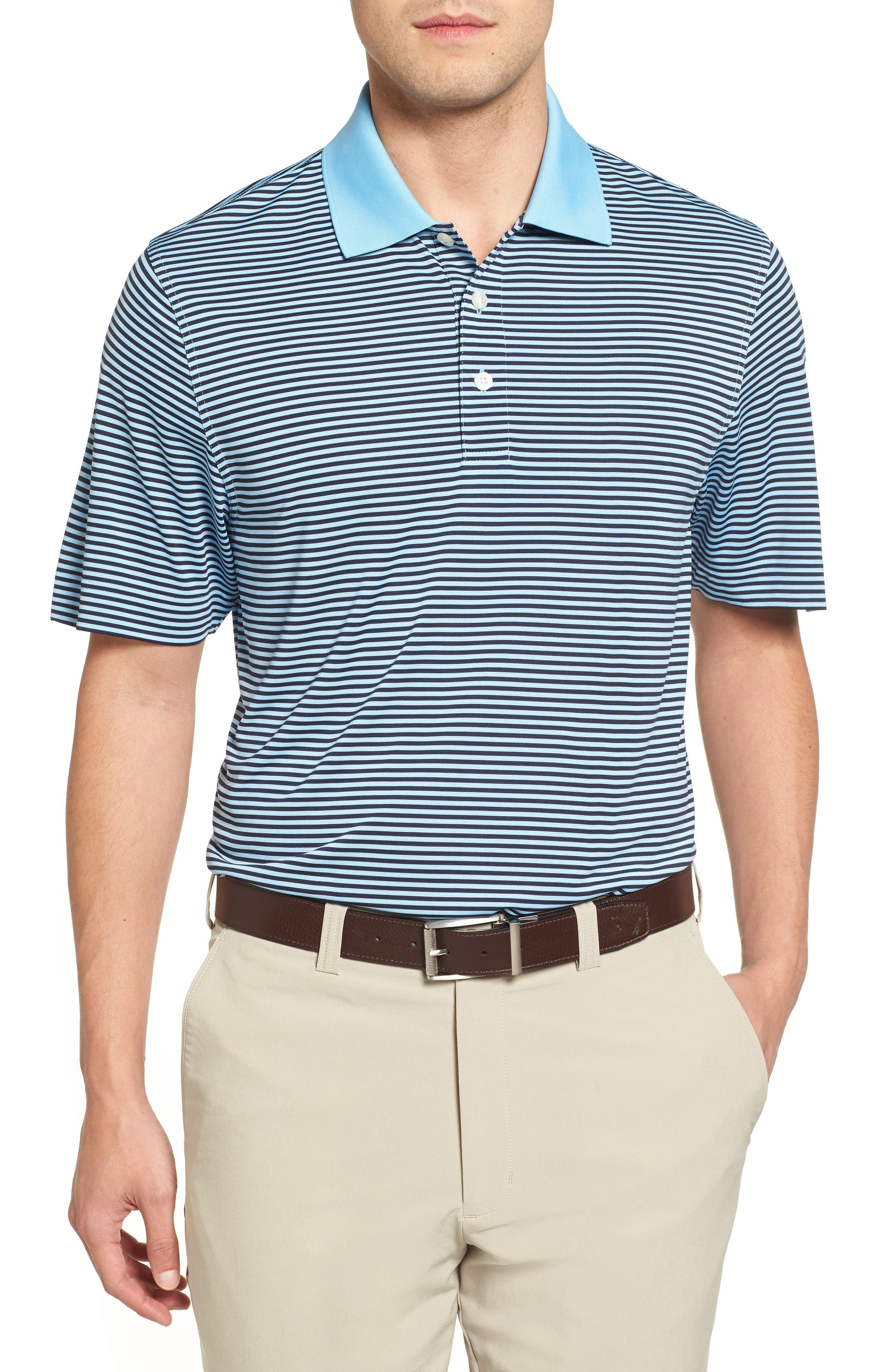 Cutter & Buck 'Trevor' DryTec Moisture Wicking Golf Polo (Big & Tall)