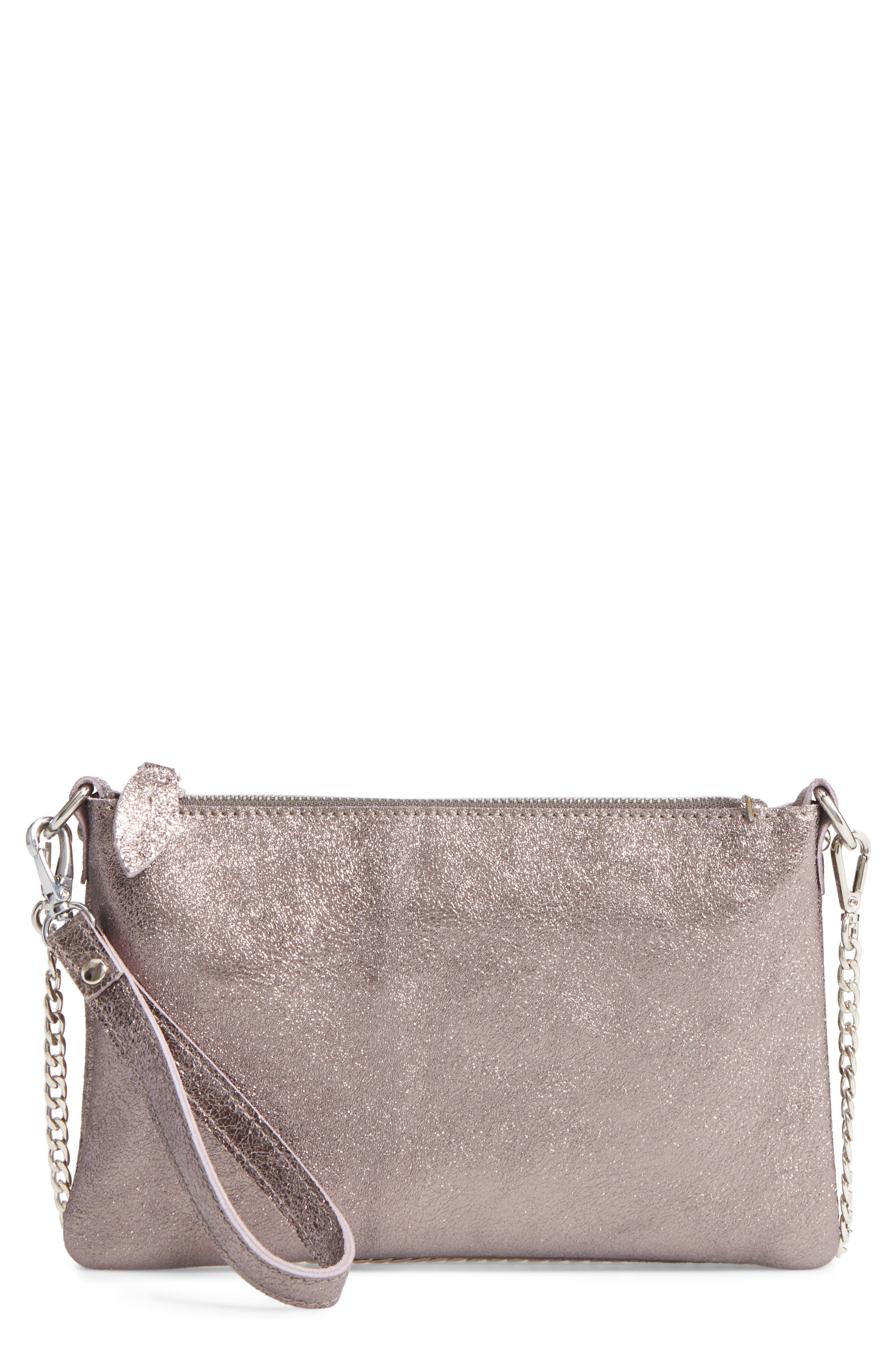 Street Level Leather Crossbody Bag