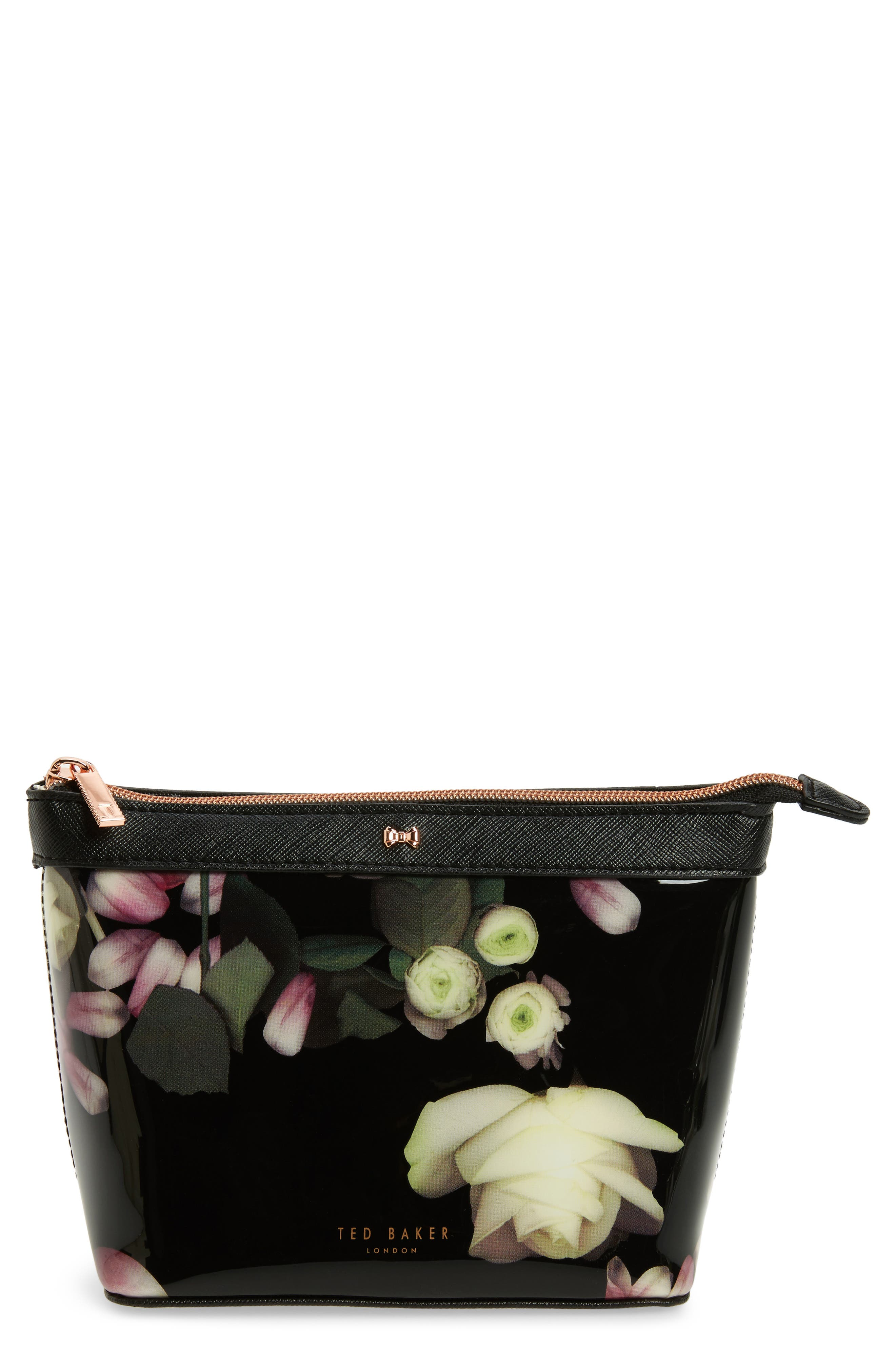 Ted Baker London Zaire Kensington Floral Print Cosmetic Pouch