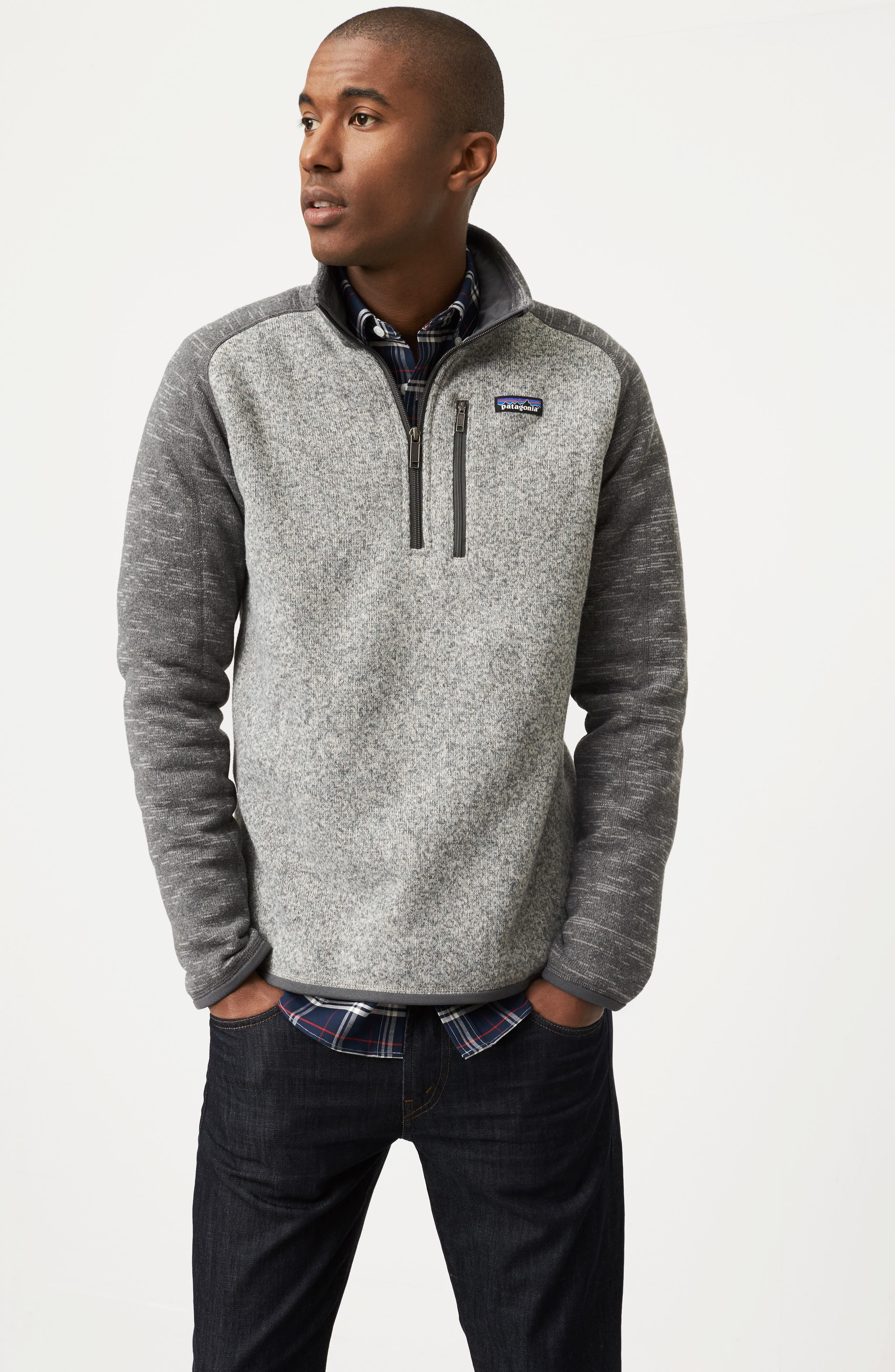 Alternate Image 6  - Patagonia 'Better Sweater' Quarter Zip Pullover
