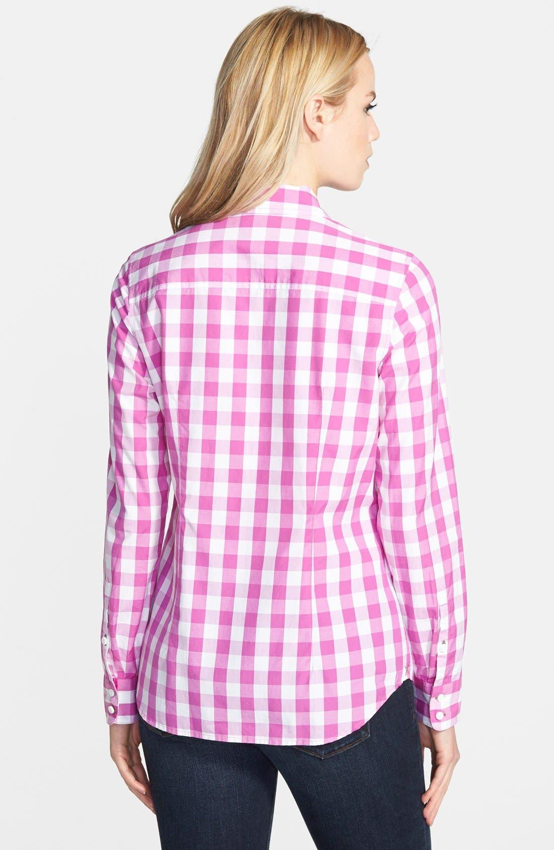 Alternate Image 2  - Vineyard Vines Oversize Gingham Check Shirt