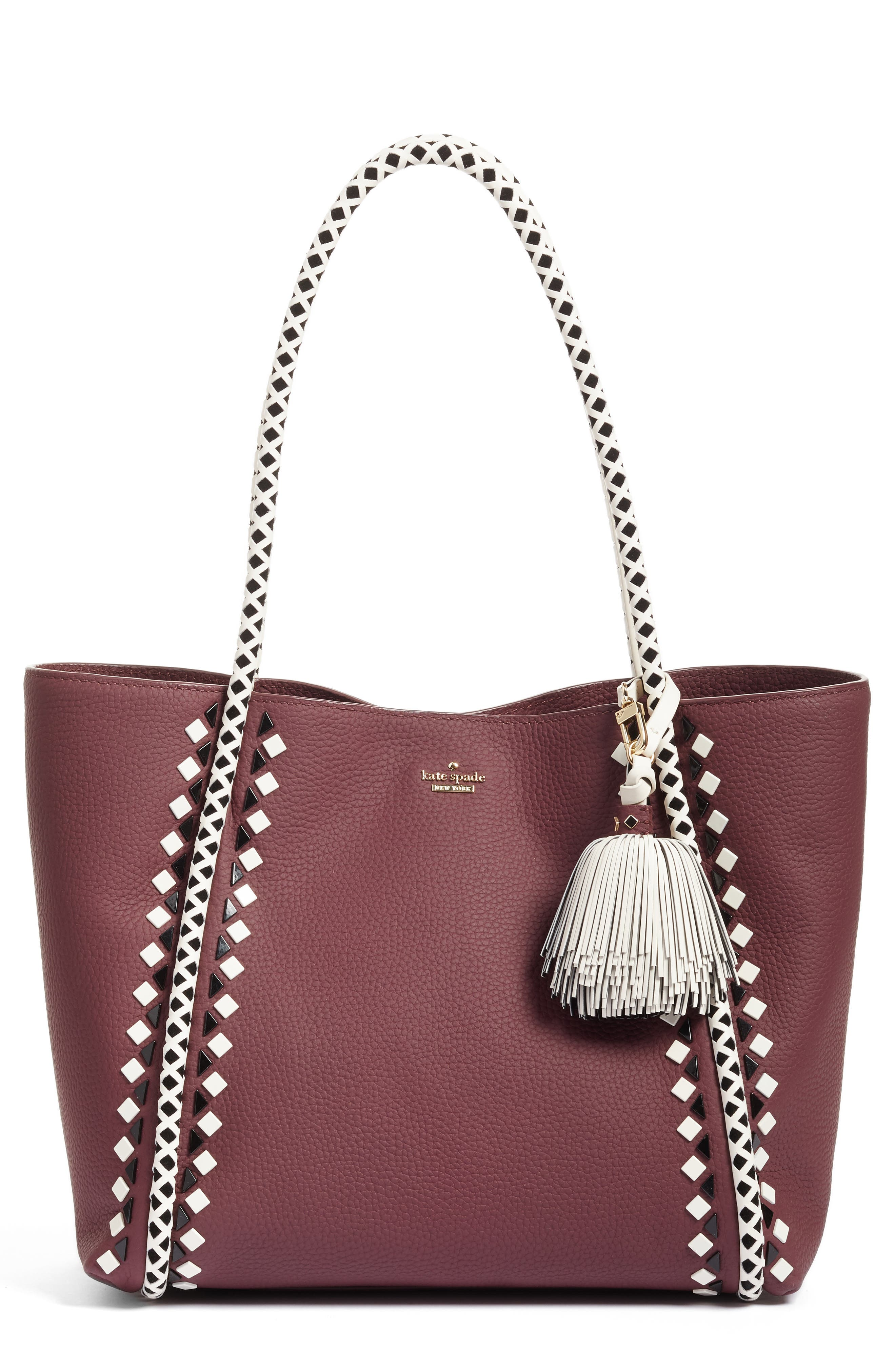 kate spade new york crown street - ronan leather tote