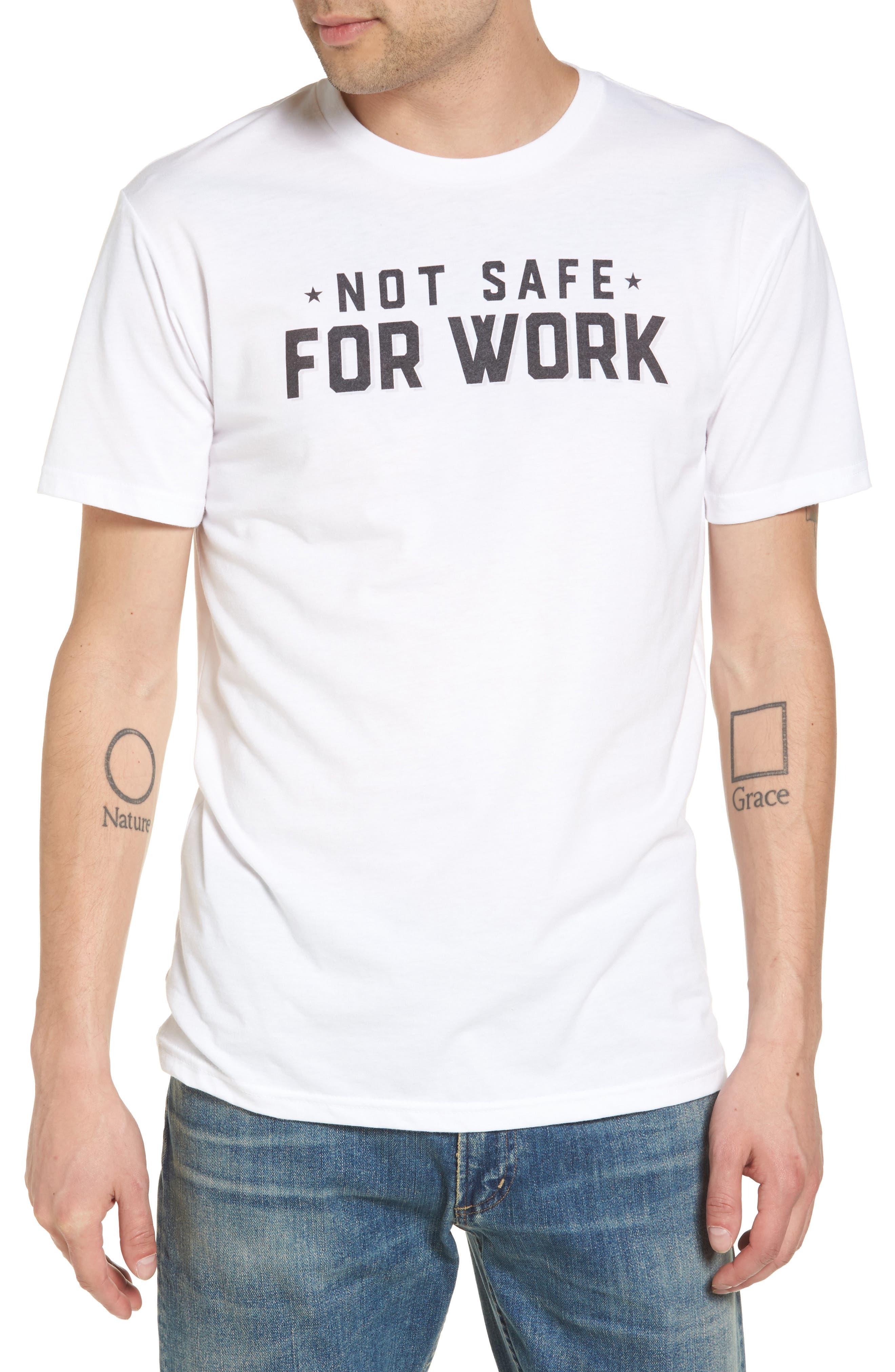 Kid Dangerous NSFW Graphic T-Shirt