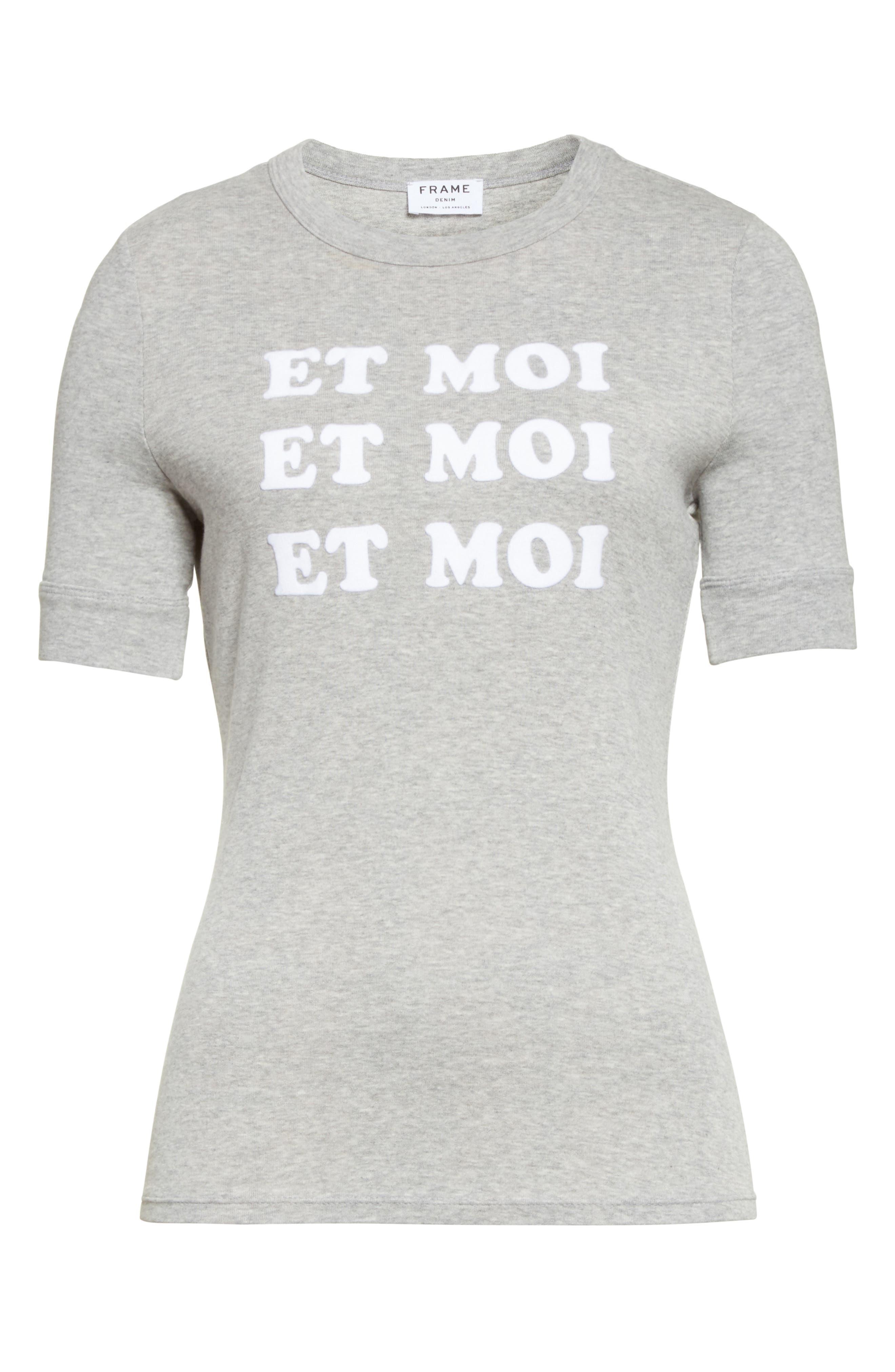 FRAME Et Moi Cotton Tee