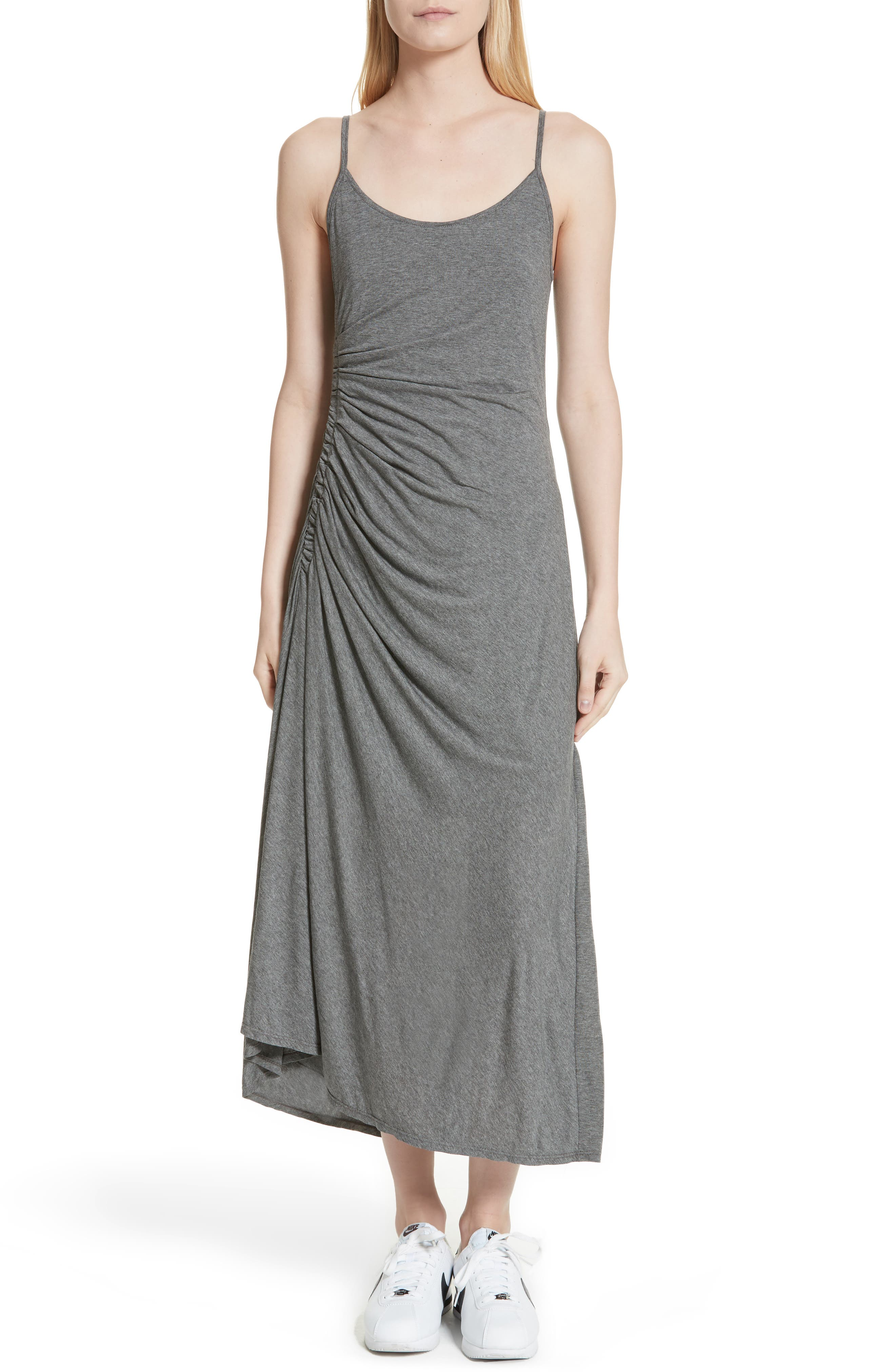 A.L.C. Delia Ruched Midi Dress