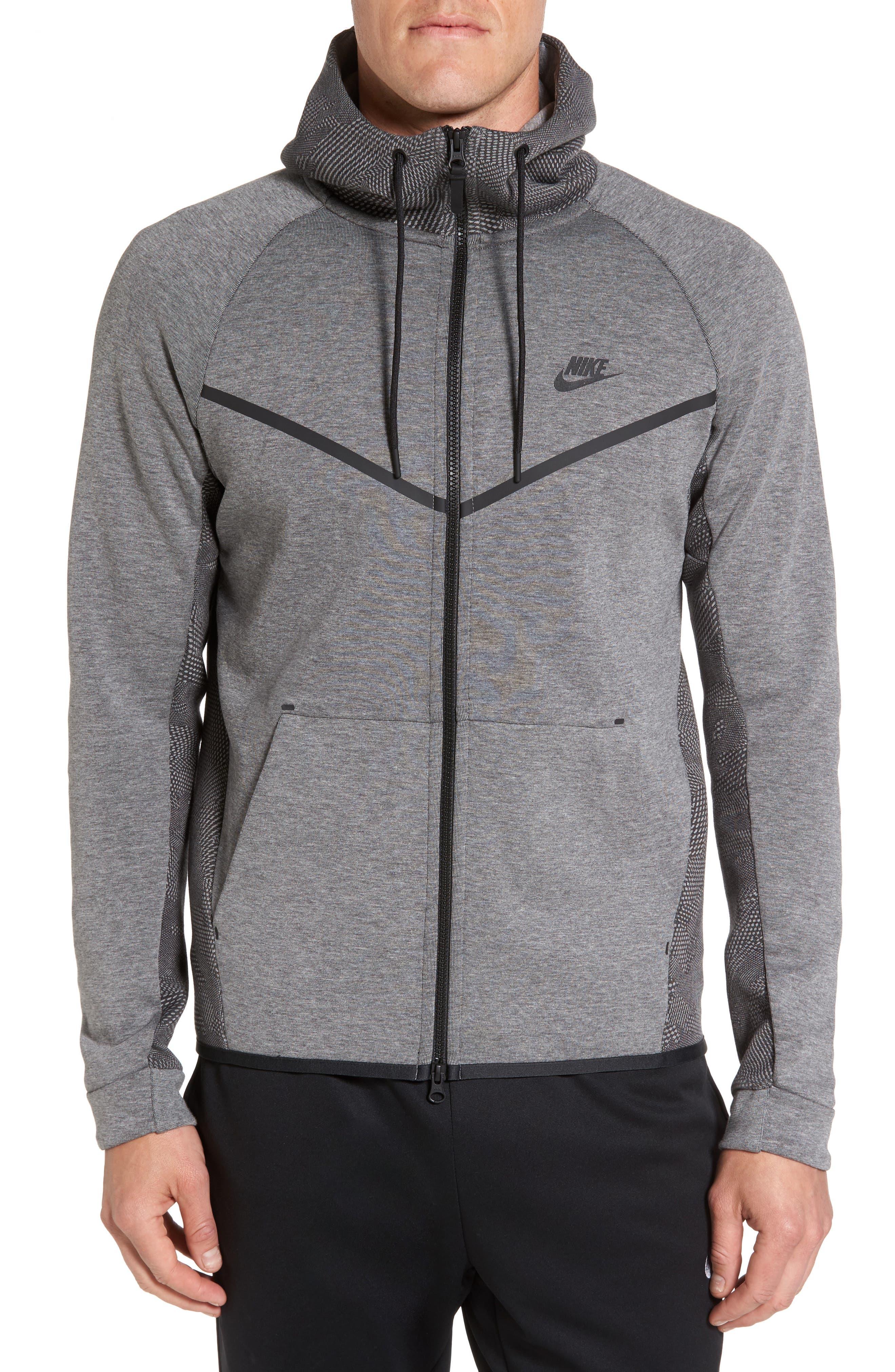 Alternate Image 1 Selected - Nike Sportswear Tech Fleece Windrunner Hoodie
