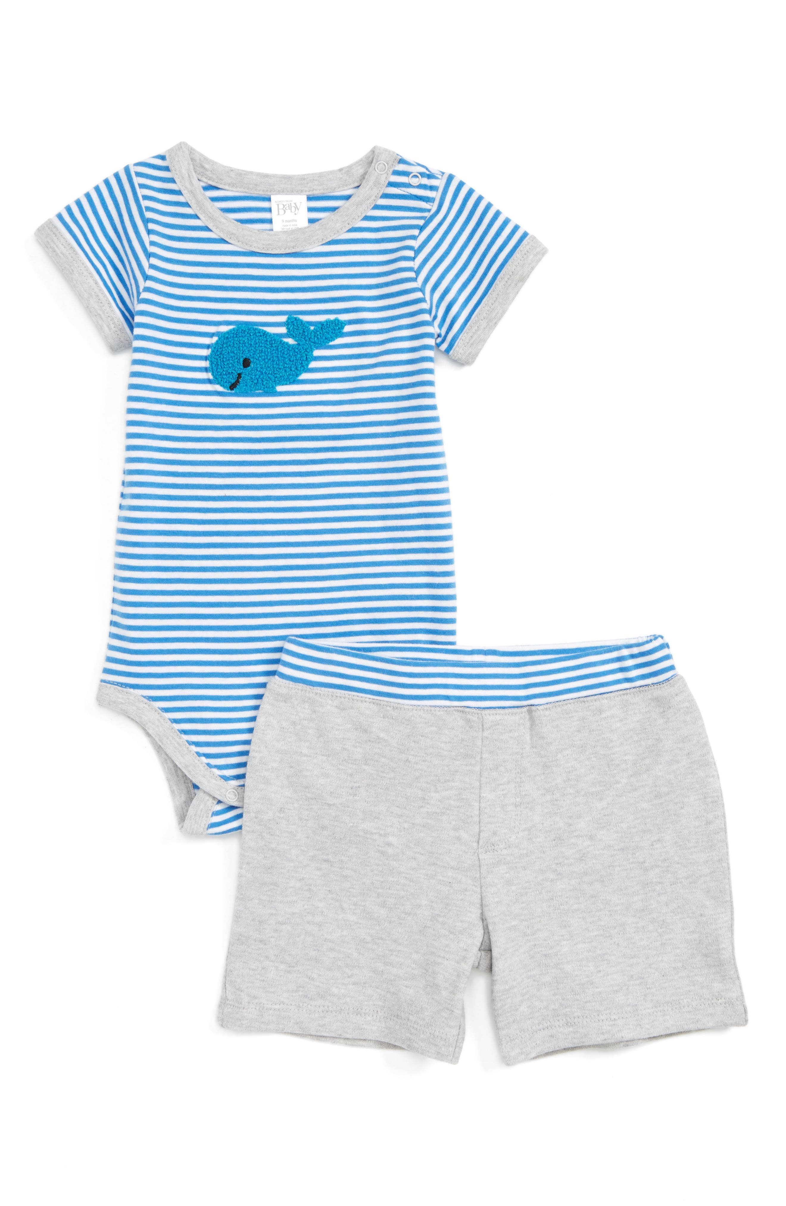 Nordstrom Baby Bodysuit & Shorts Set (Baby Boys)