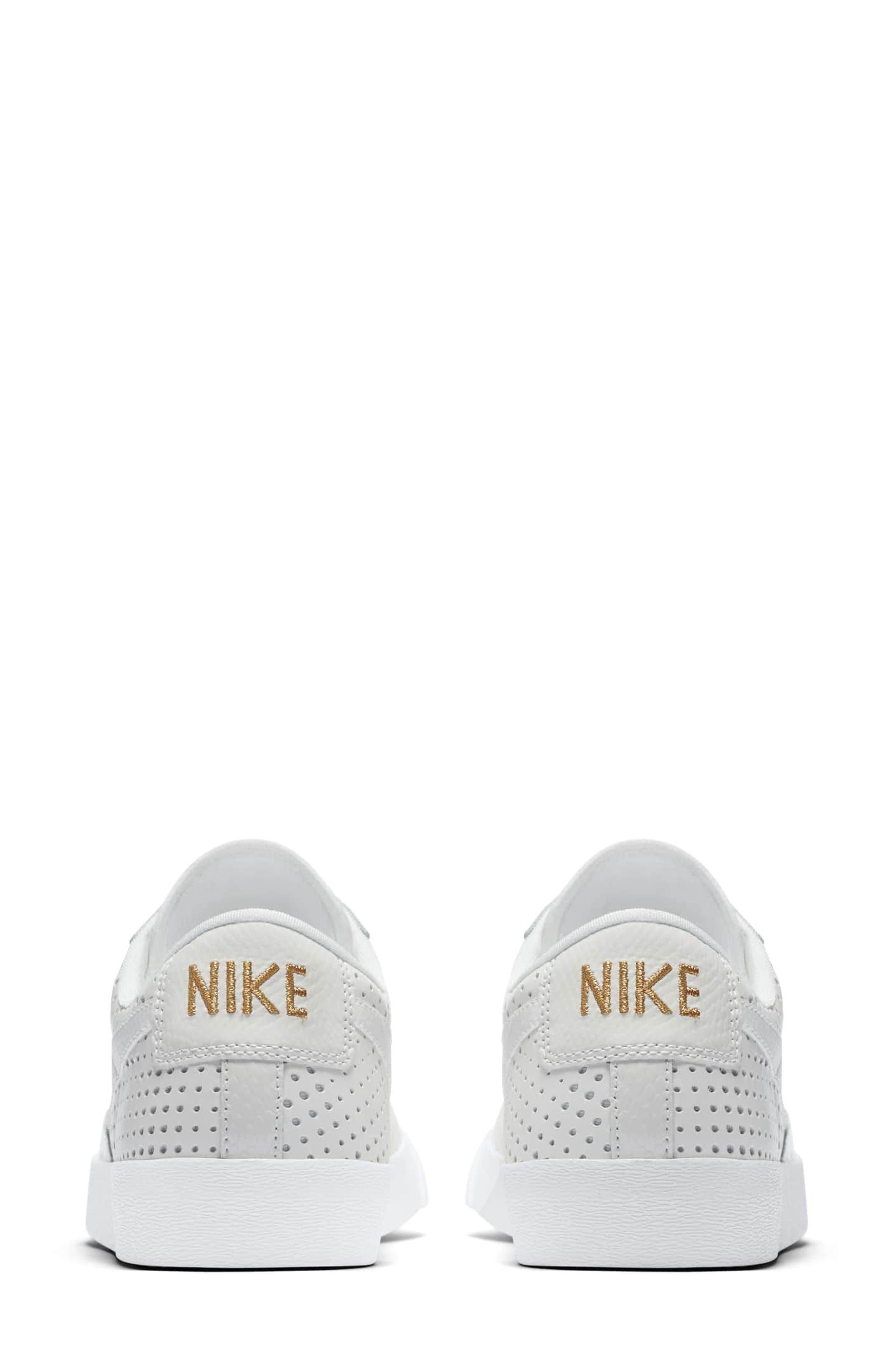 Alternate Image 4  - Nike Blazer Low Top Sneaker SE (Women)