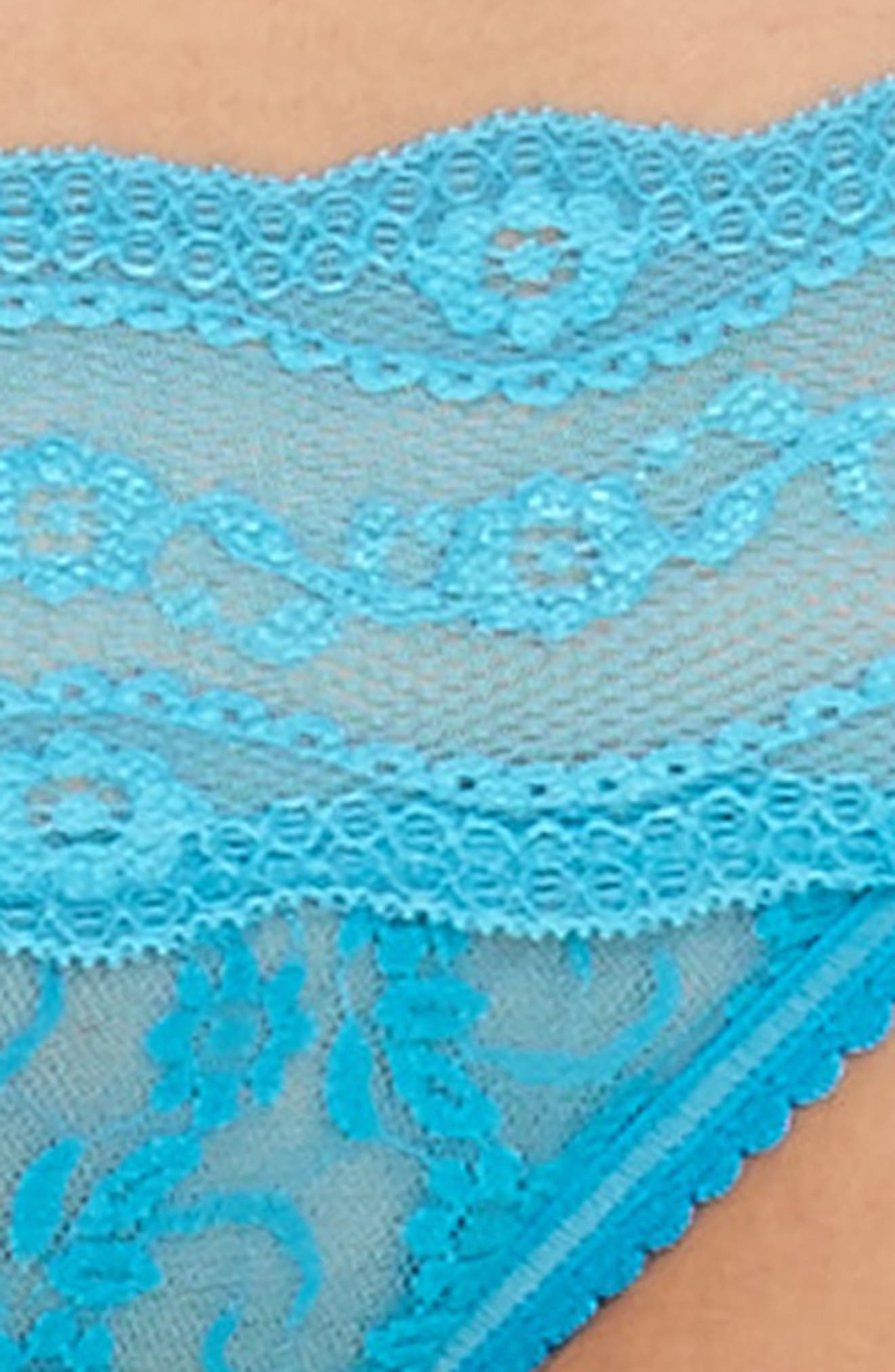 Alternate Image 7  - b.tempt'd by Wacoal 'Lace Kiss' Bikini (3 for $33)