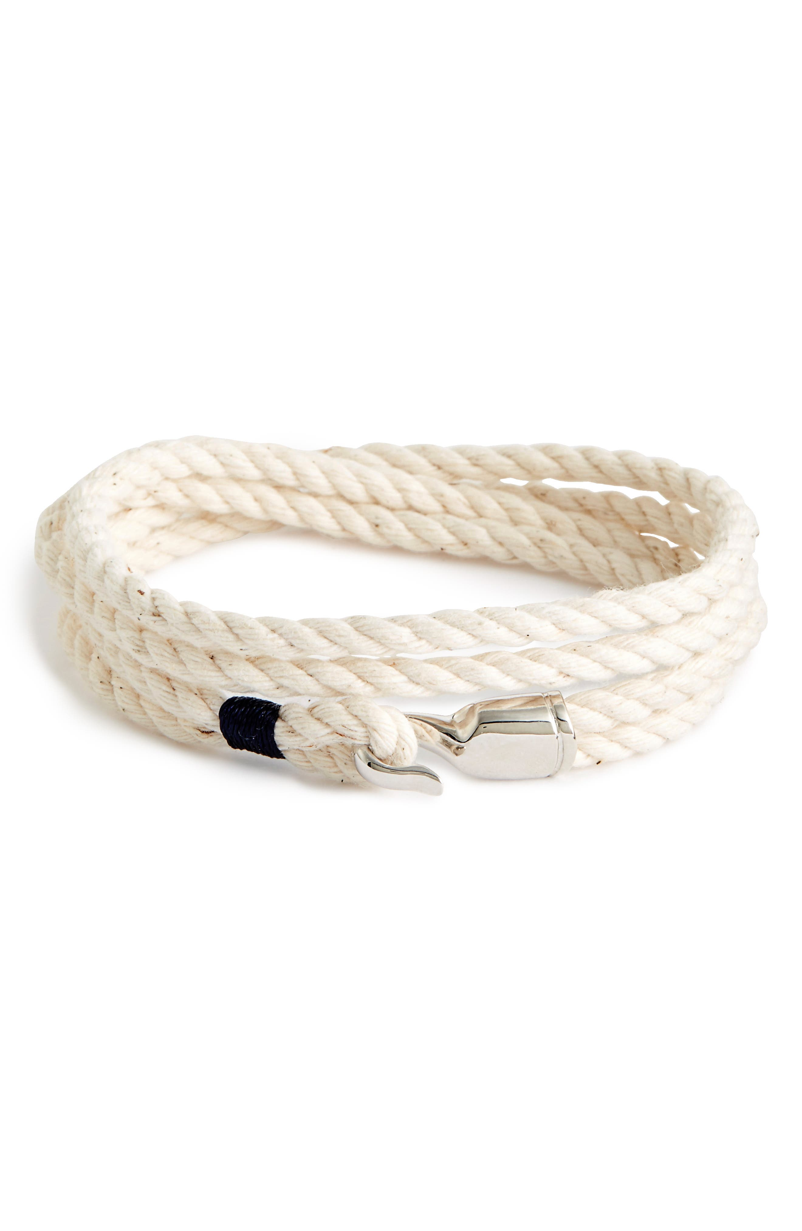 Miansai 'Trice' Wrap Rope Bracelet