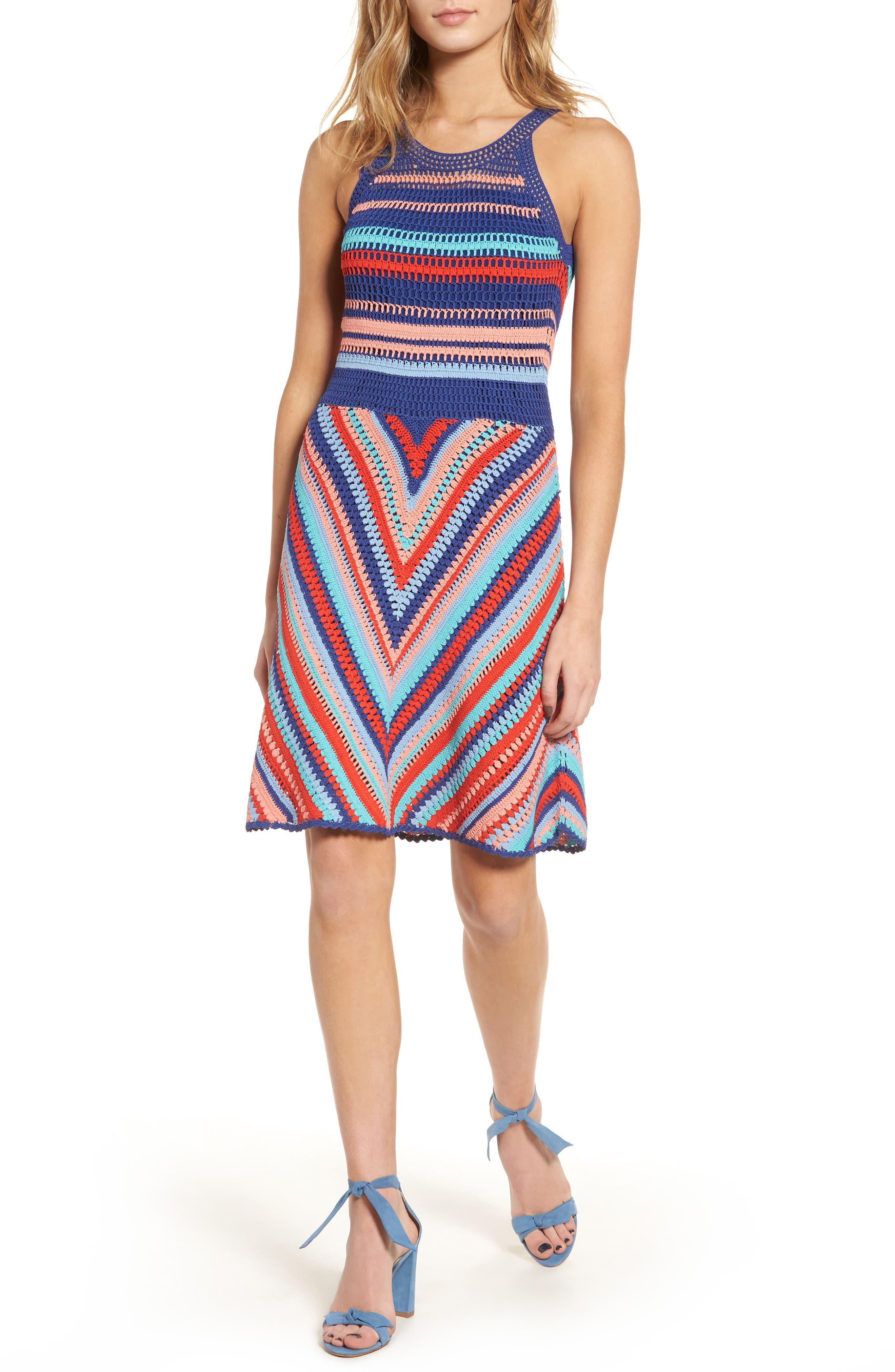 Parker Viola Knit A-Line Dress