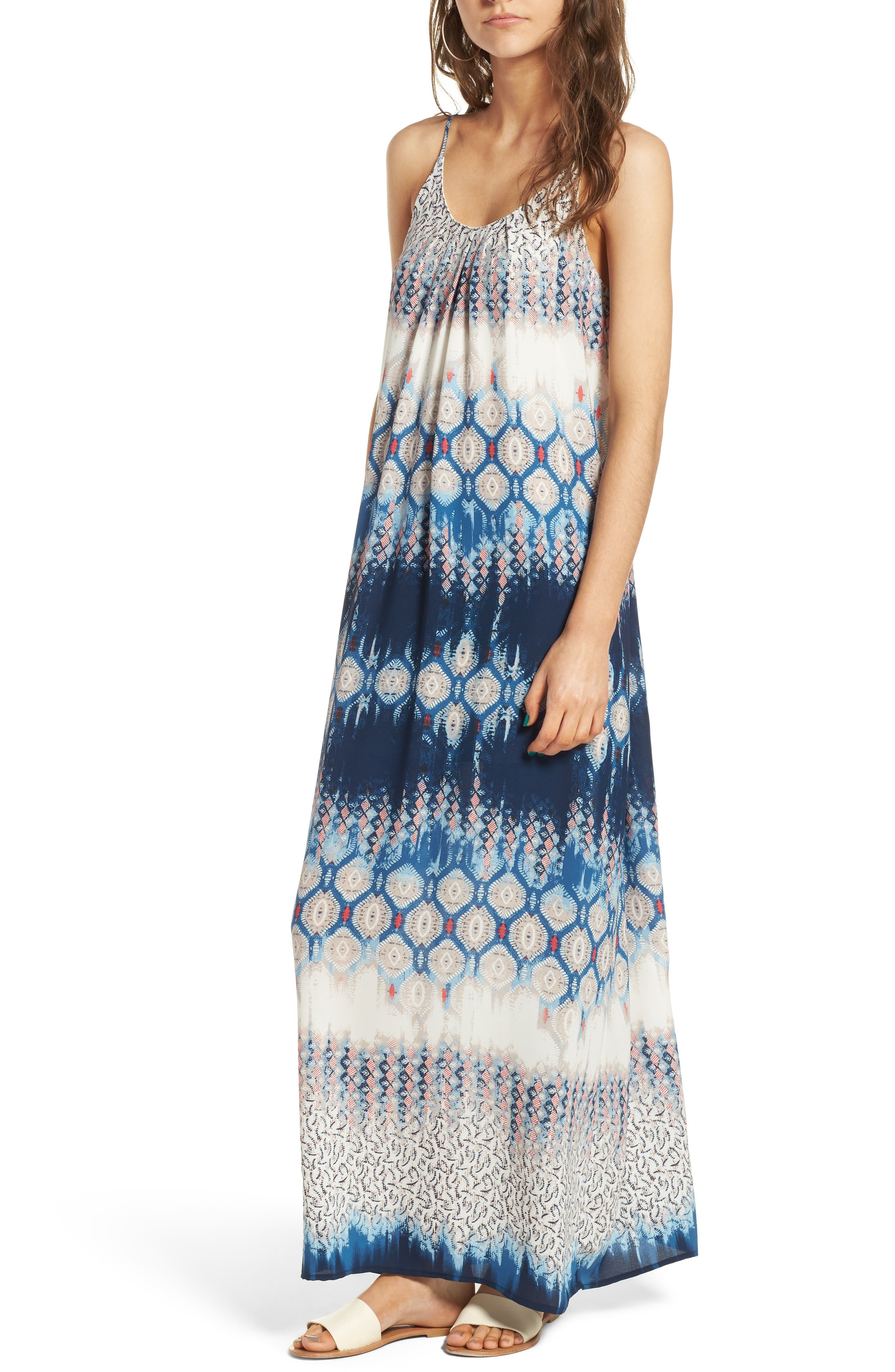 One Clothing Tie Dye Maxi Dress