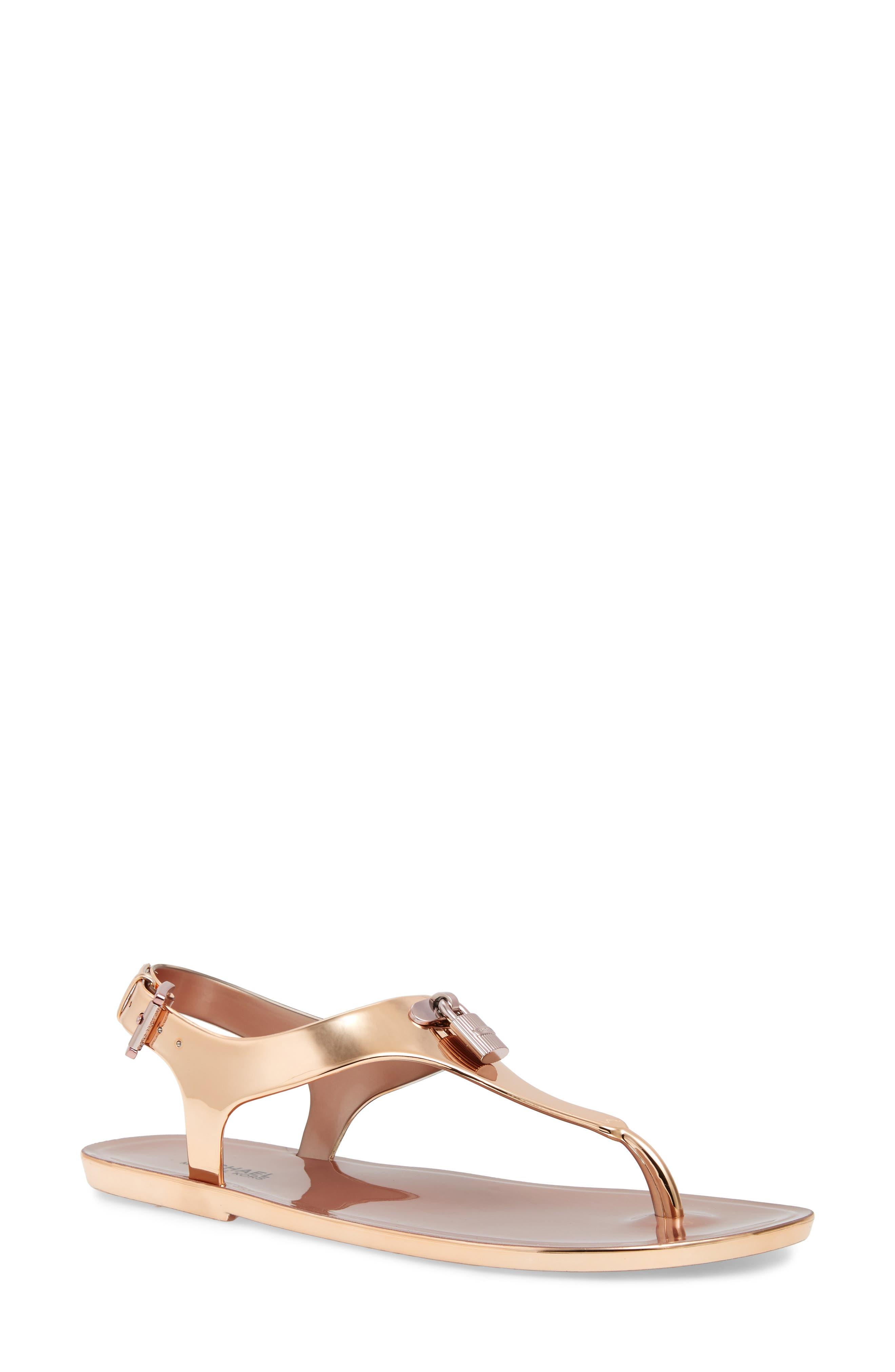 MICHAEL Michael Kors Mira Thong Sandal (Women)