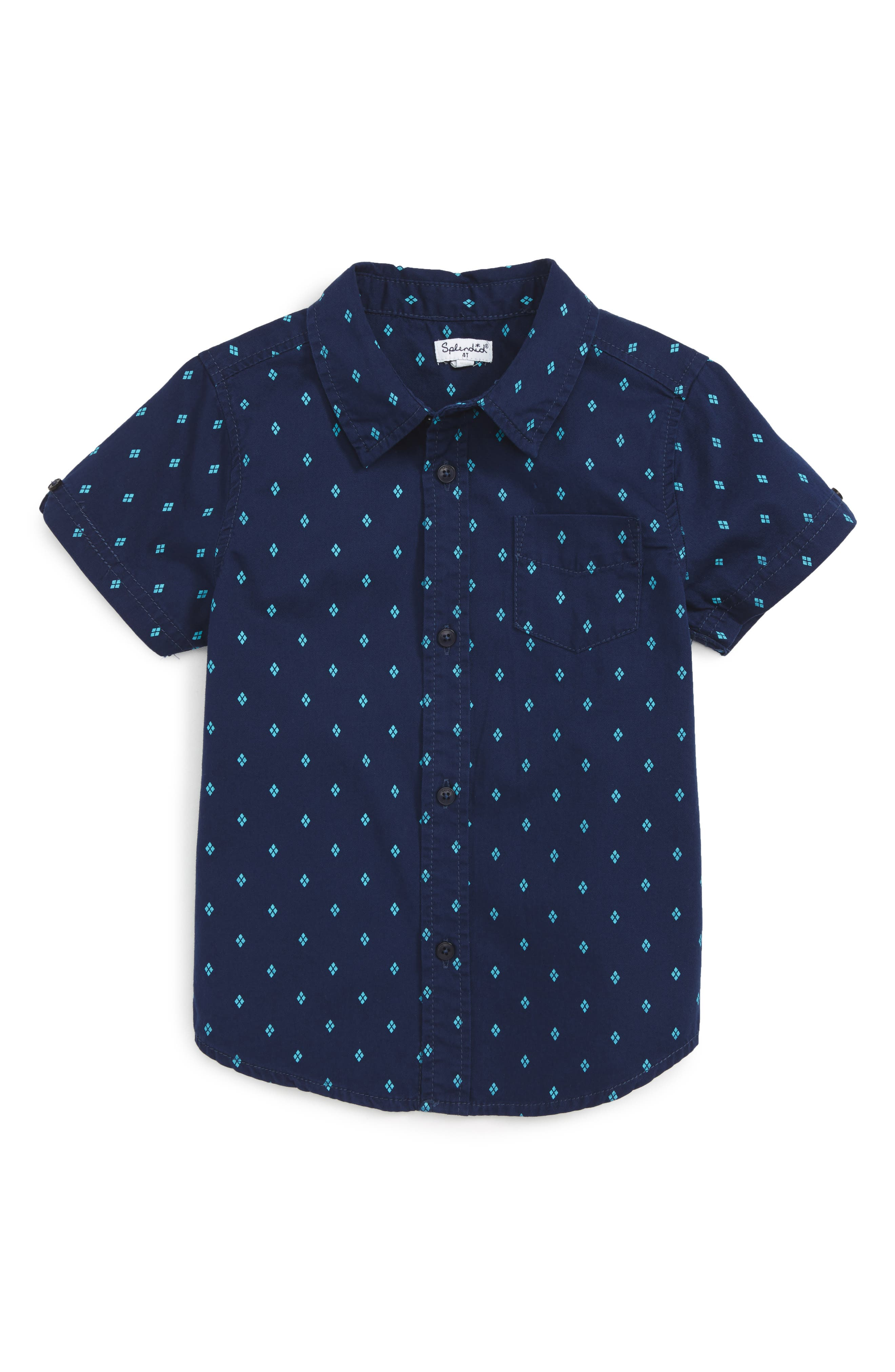 Splendid Woven Shirt (Toddler Boys & Little Boys)
