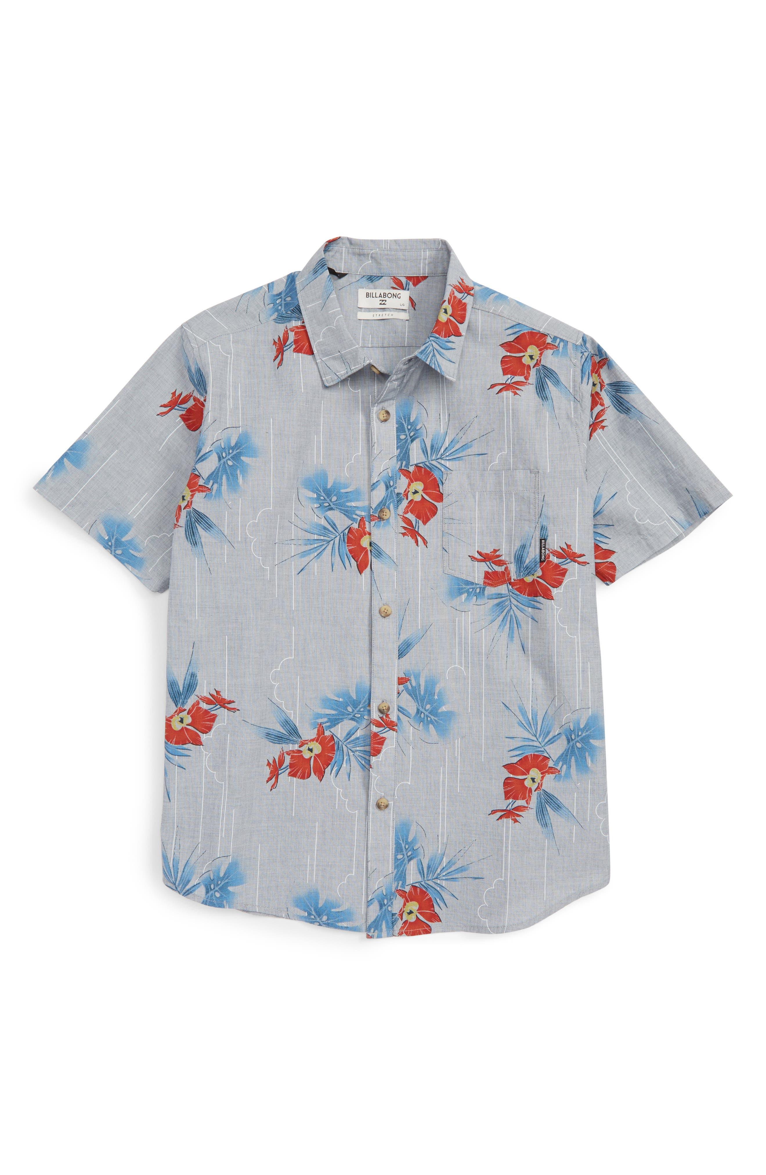 Billabong Vacay Woven Shirt (Big Boys)