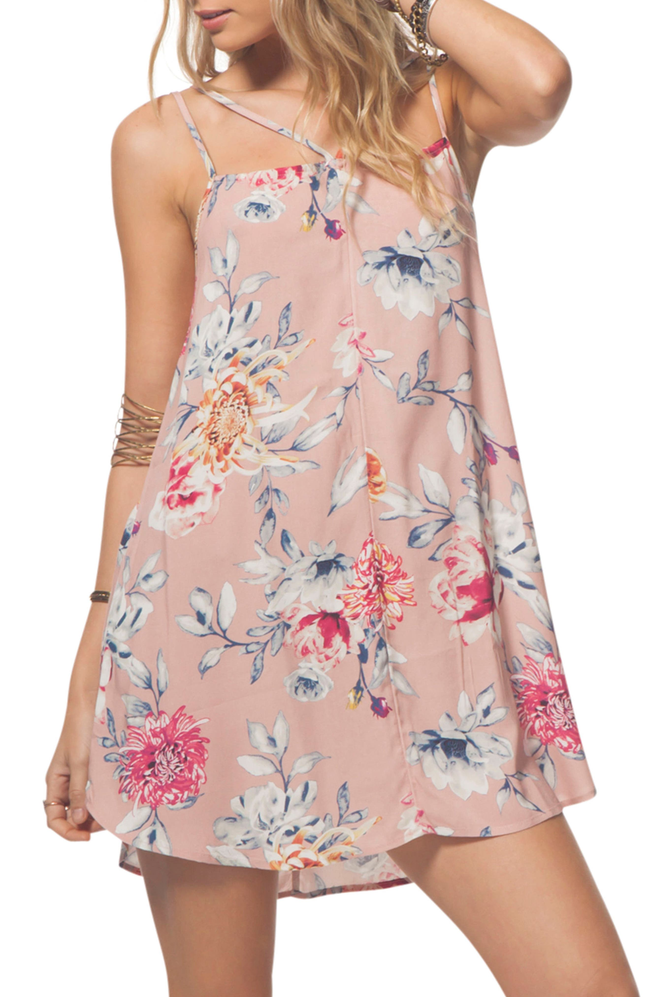 Rip Curl Wildflower Floral Strappy Slipdress
