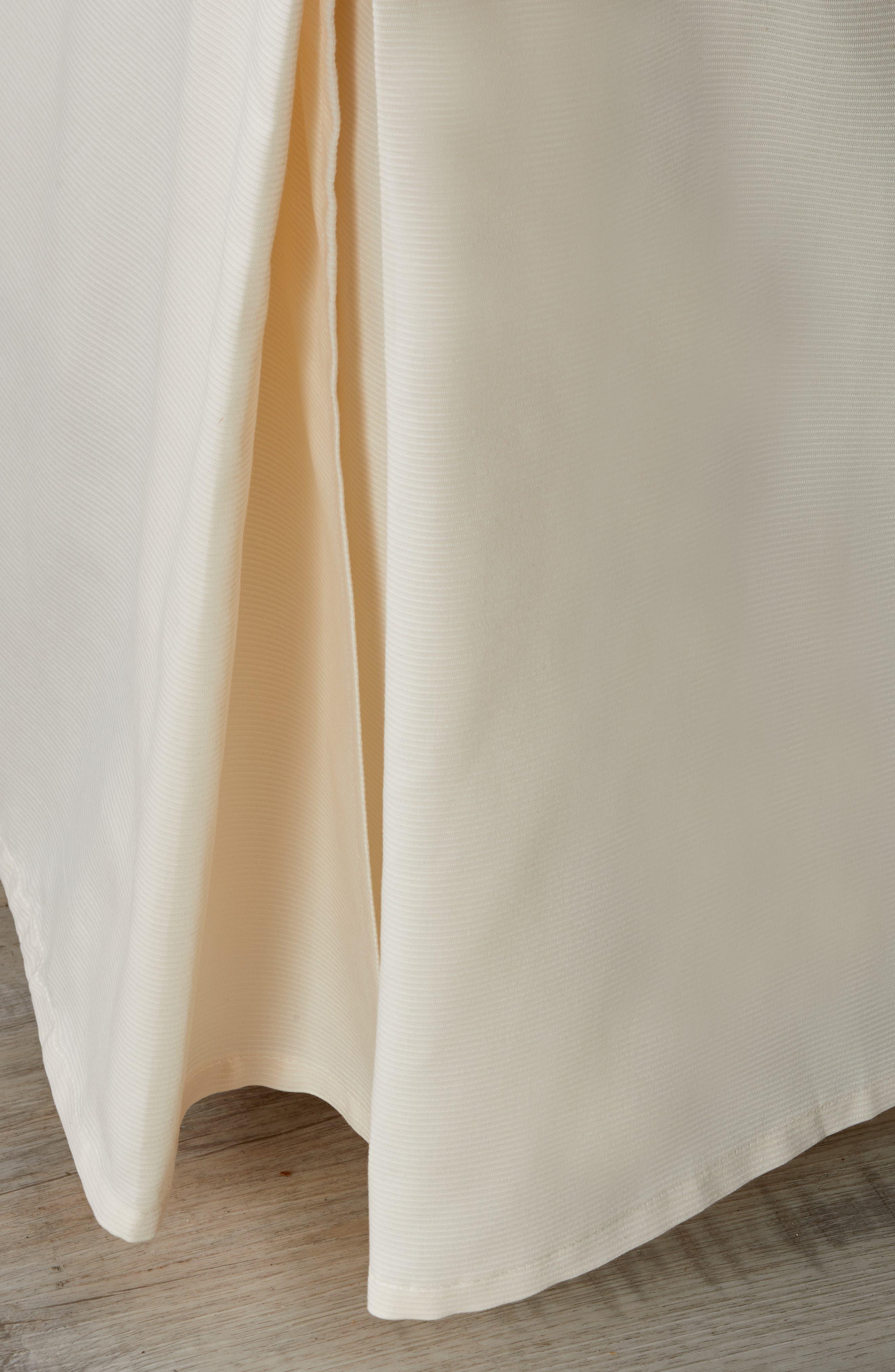 Vera Wang Woven Rib Bed Skirt