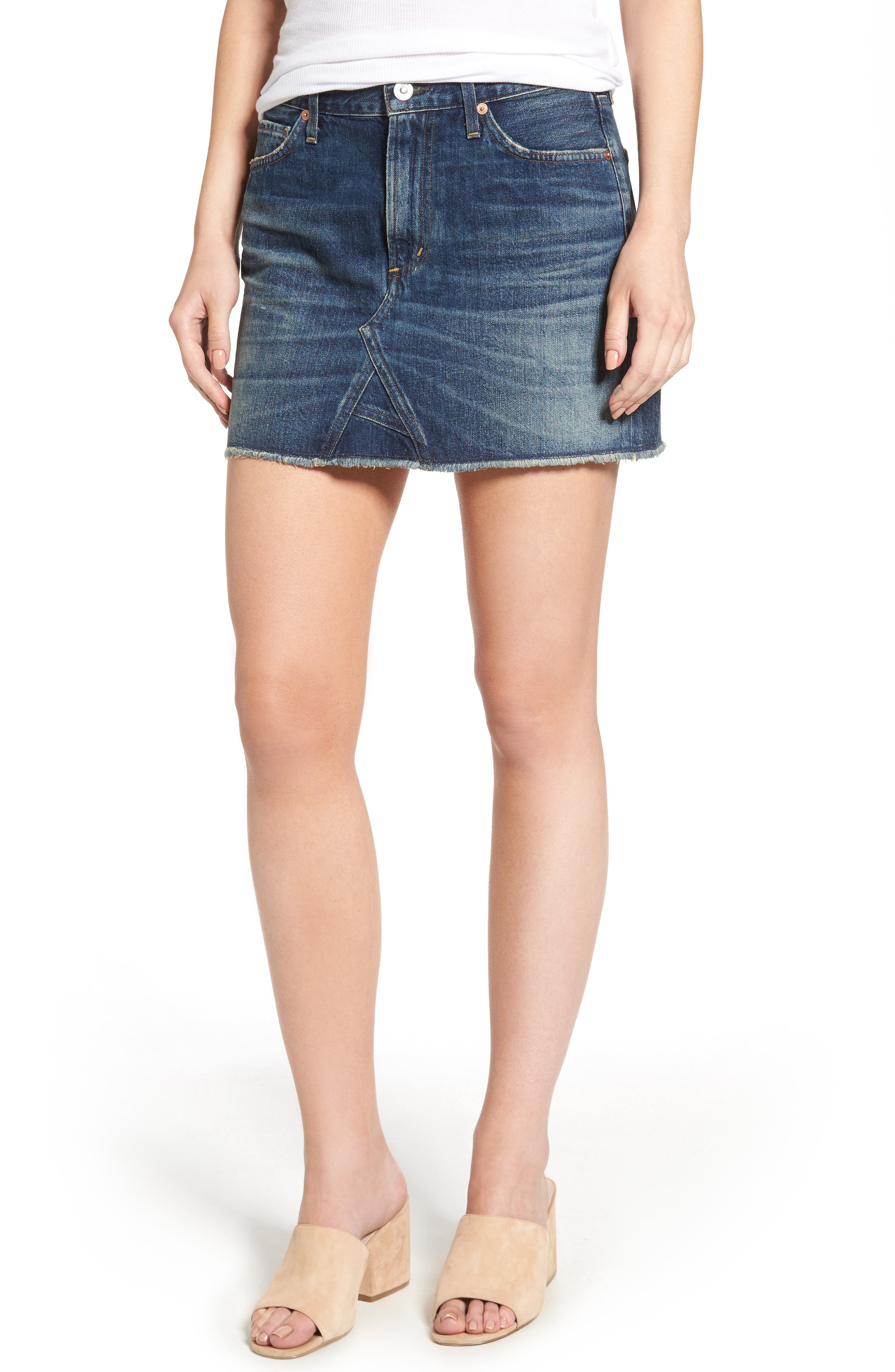 Citizens of Humanity Denim Miniskirt