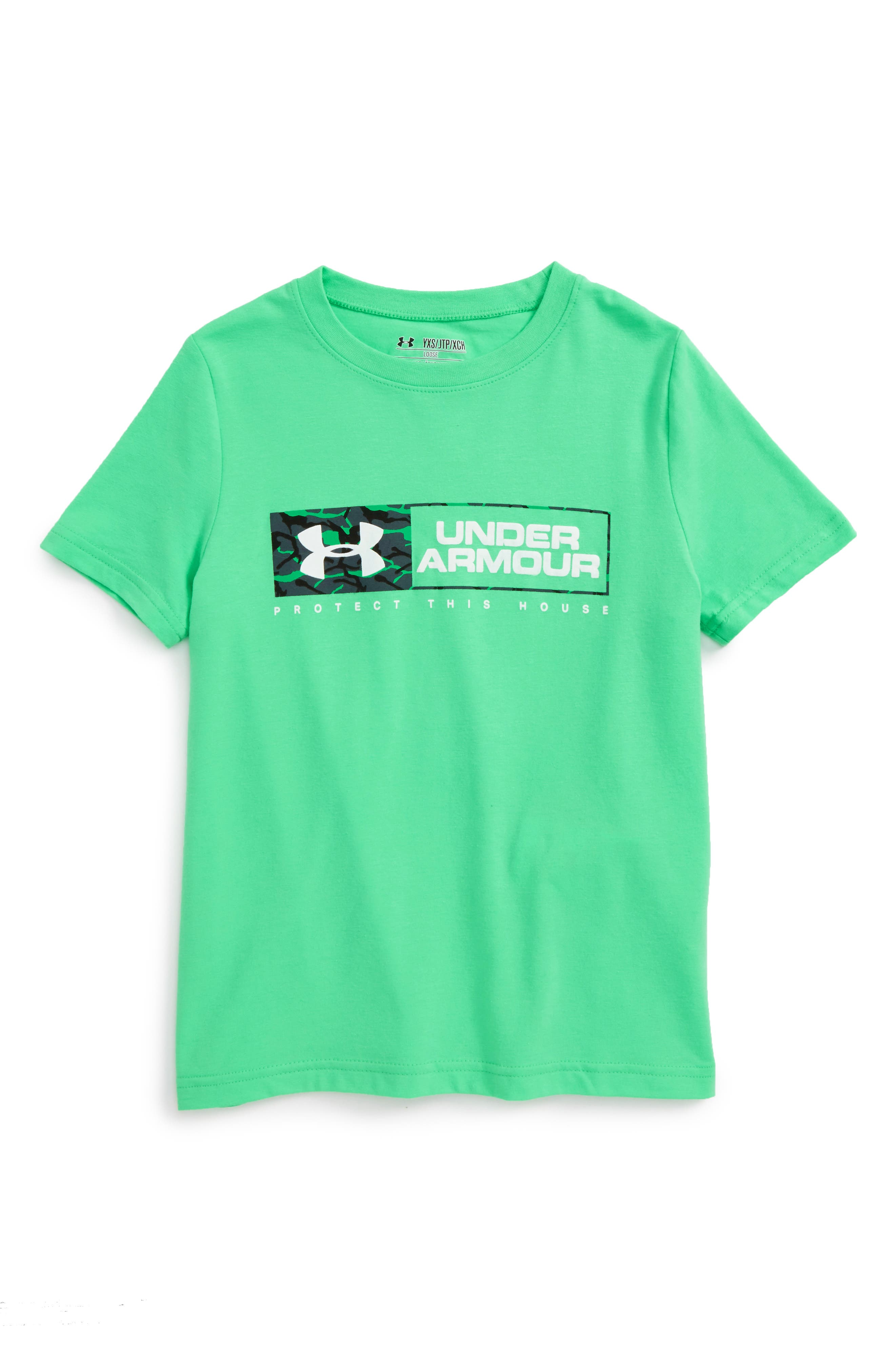 Under Armour Knockout Bar T-Shirt (Little Boys & Big Boys)