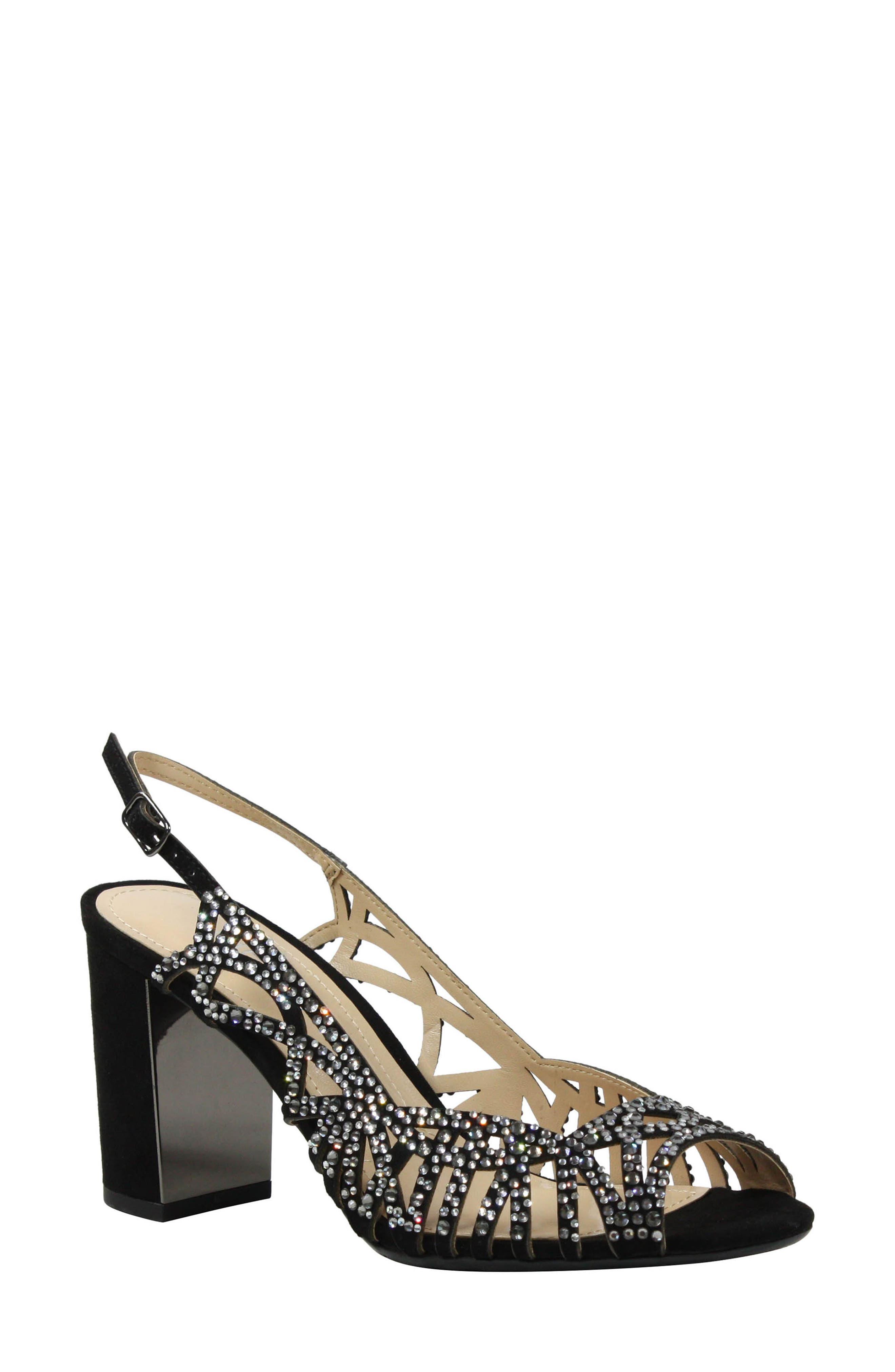 J. Reneé Tahira Embellished Cutout Sandal (Women)