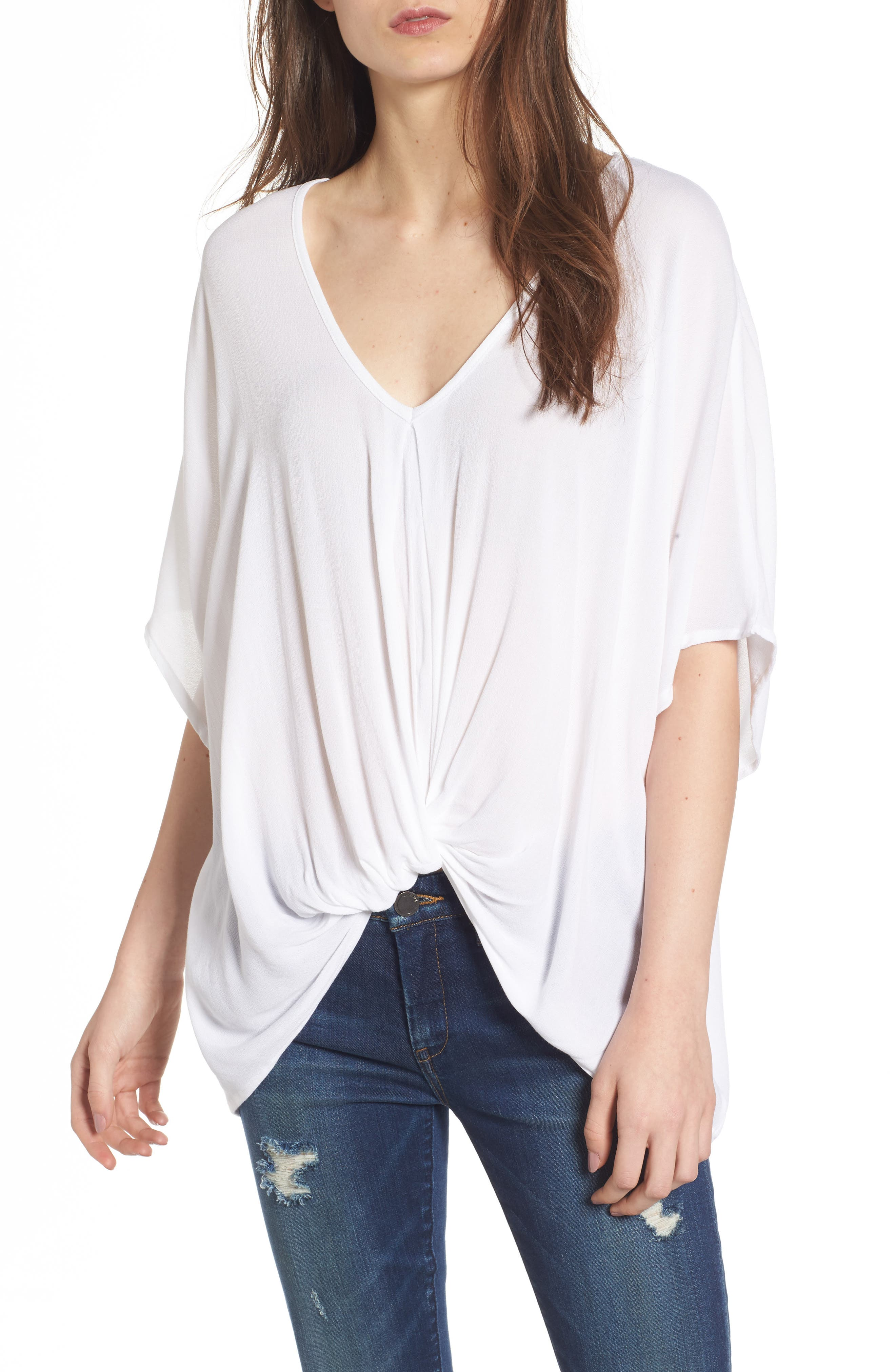 Leith Drape Front Top