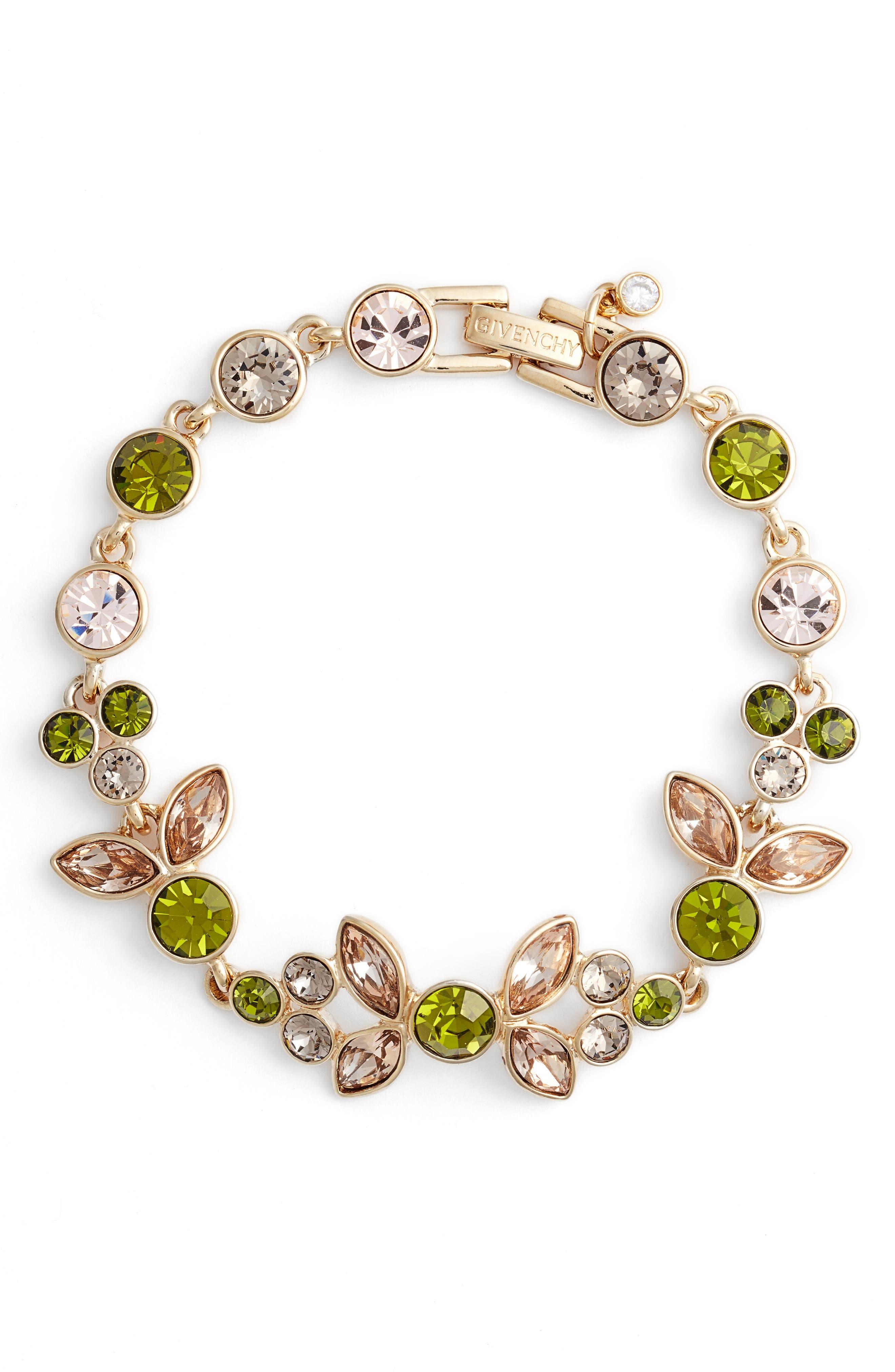 Givenchy Sydney Crystal Flex Bracelet
