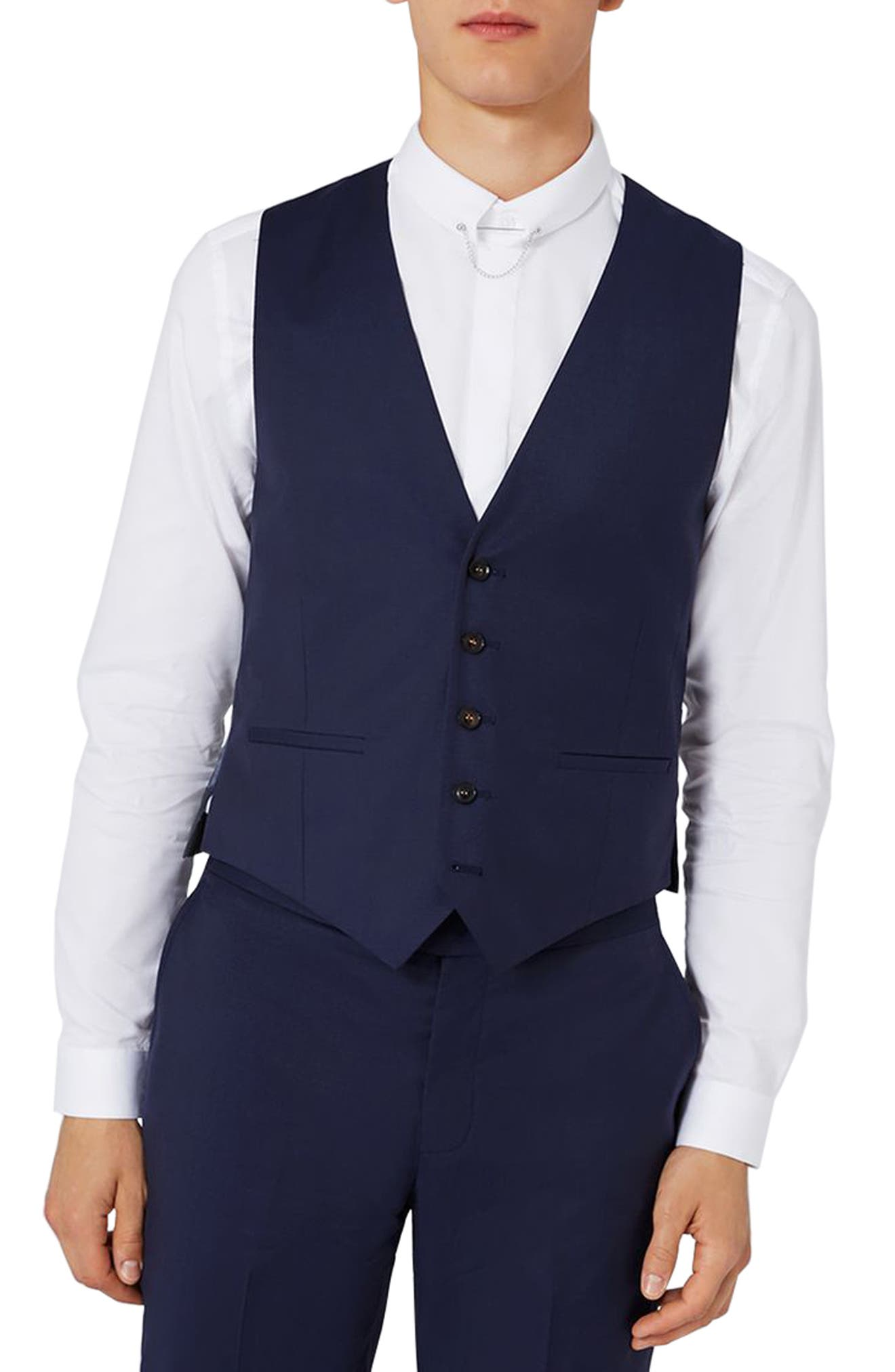 Charlie Casely-Hayford x Topman Skinny Fit Waistcoat