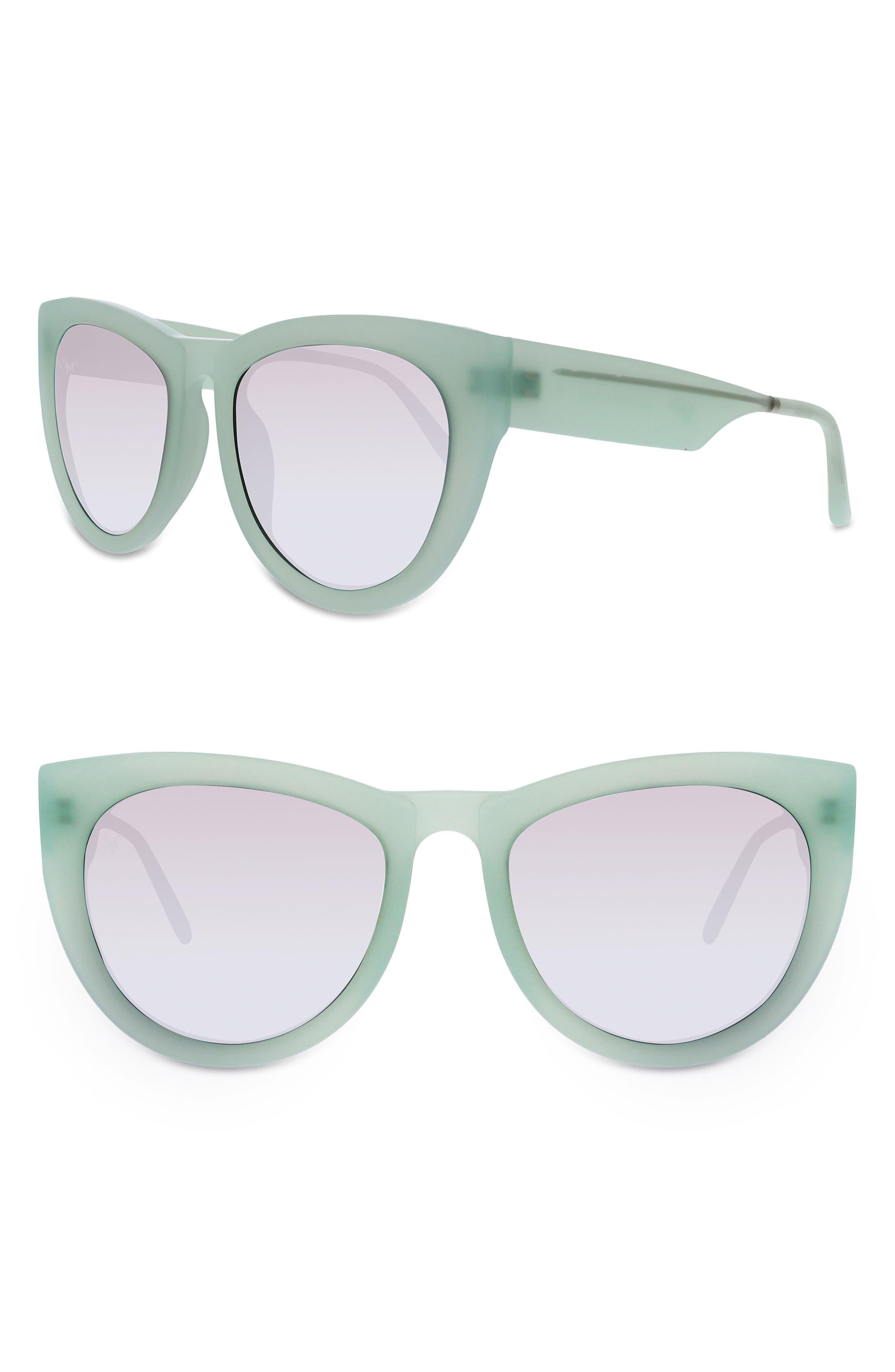 SMOKE X MIRRORS Runaround Sue 60mm Cat Eye Sunglasses
