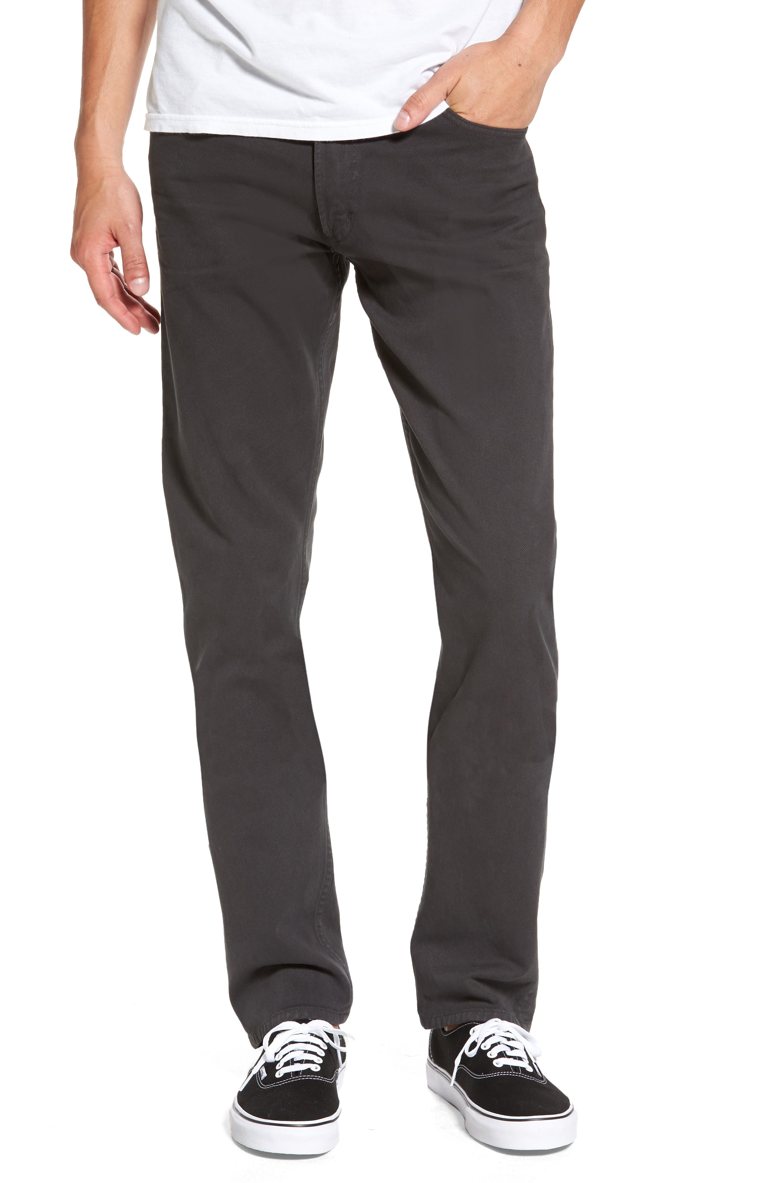 Citizens of Humanity Bowery Slim Fit Jeans (Dark Charcoal)