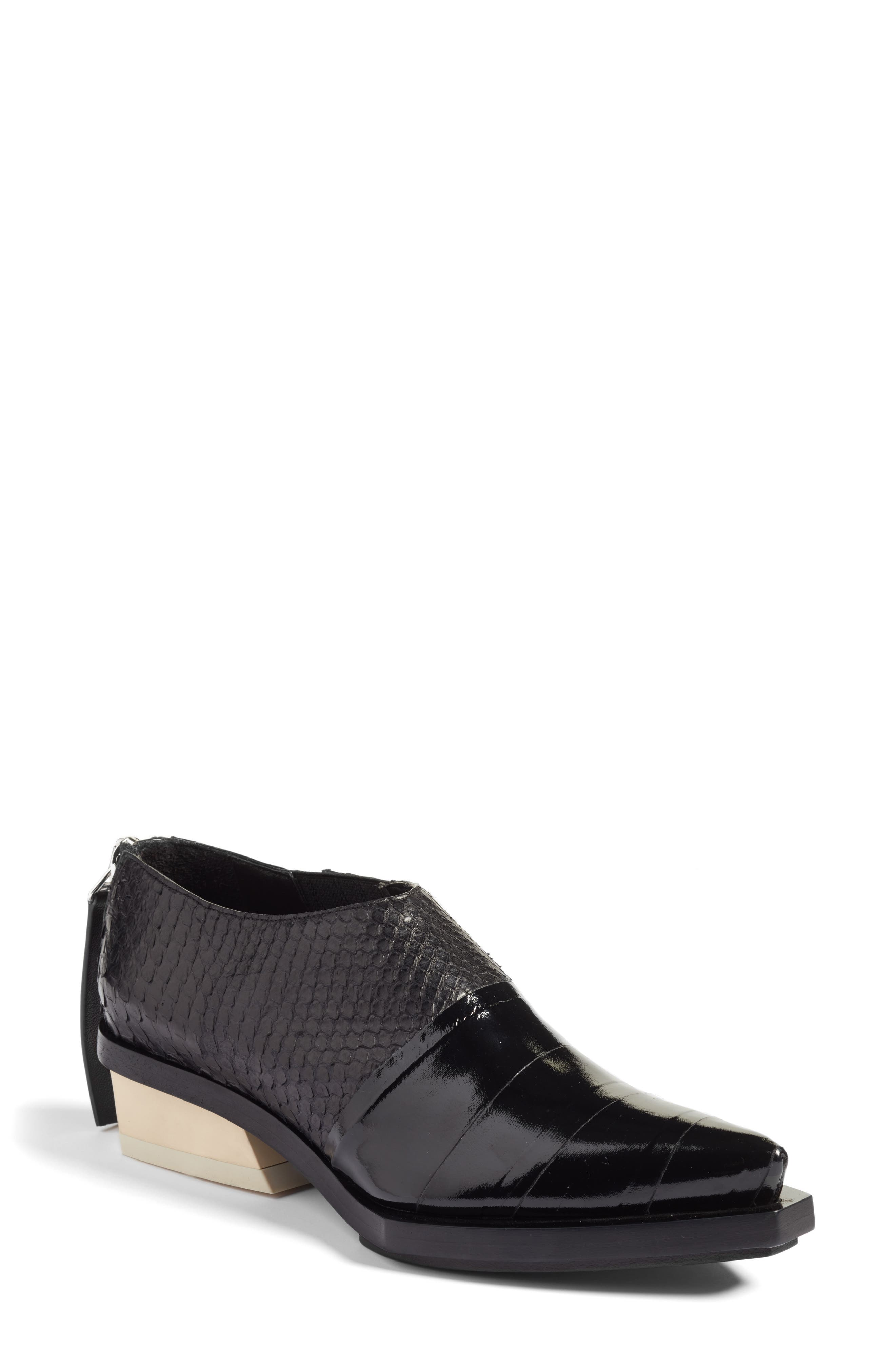 Proenza Schouler Mixed Media Bootie (Women)