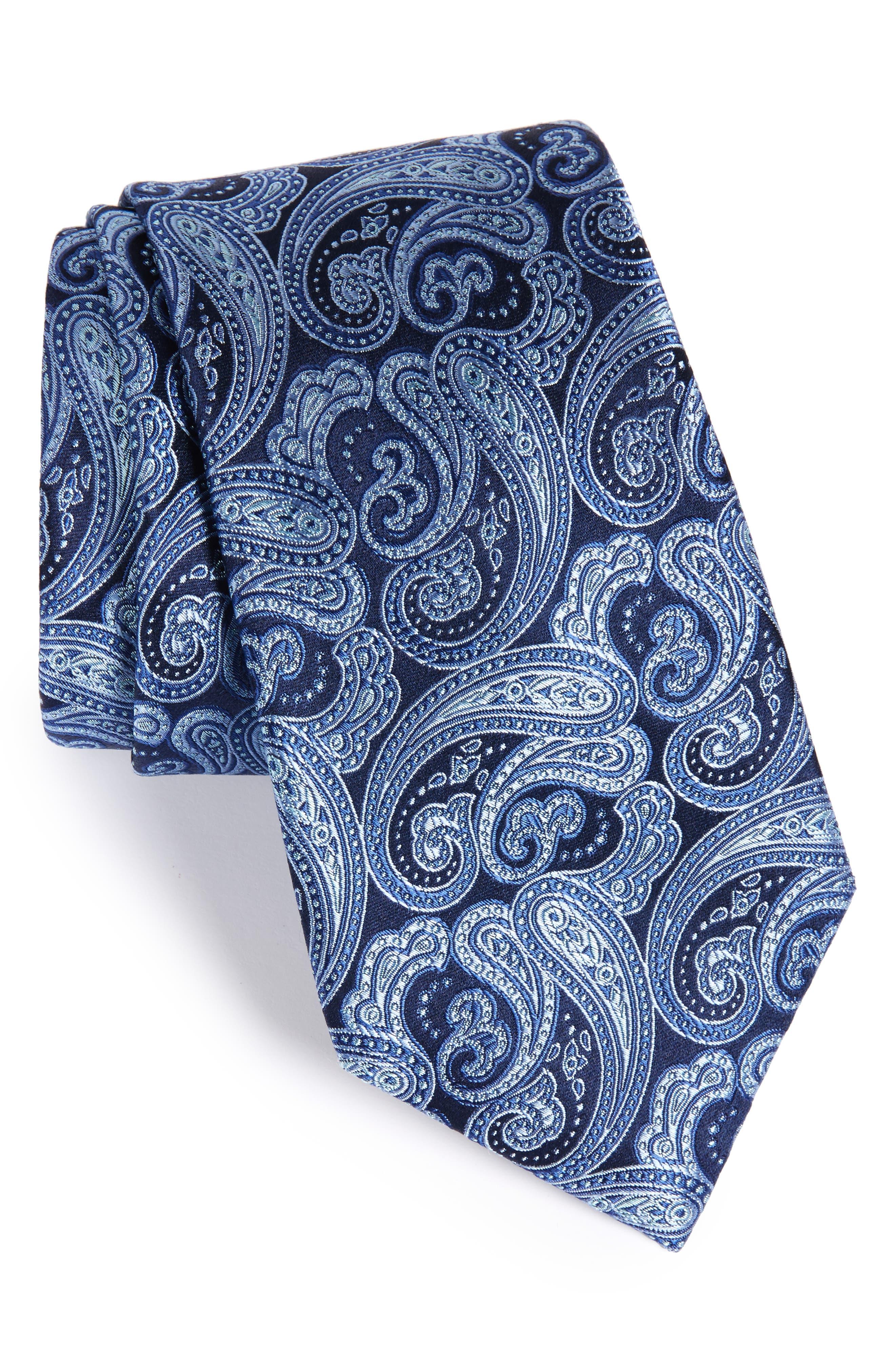 Nordstrom Men's Shop Fancy Paisley Silk Tie