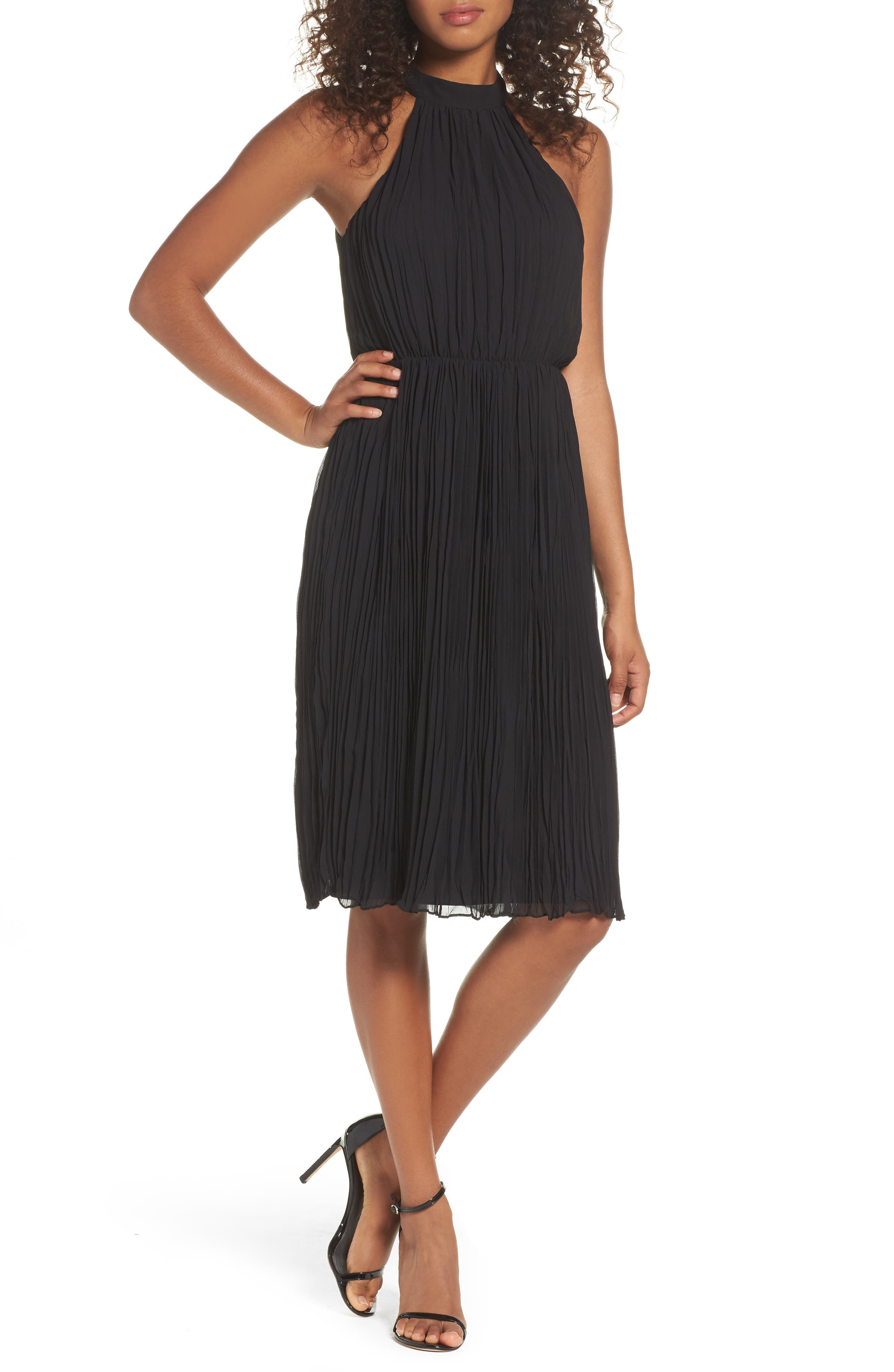 Ali & Jay Pleated Dress