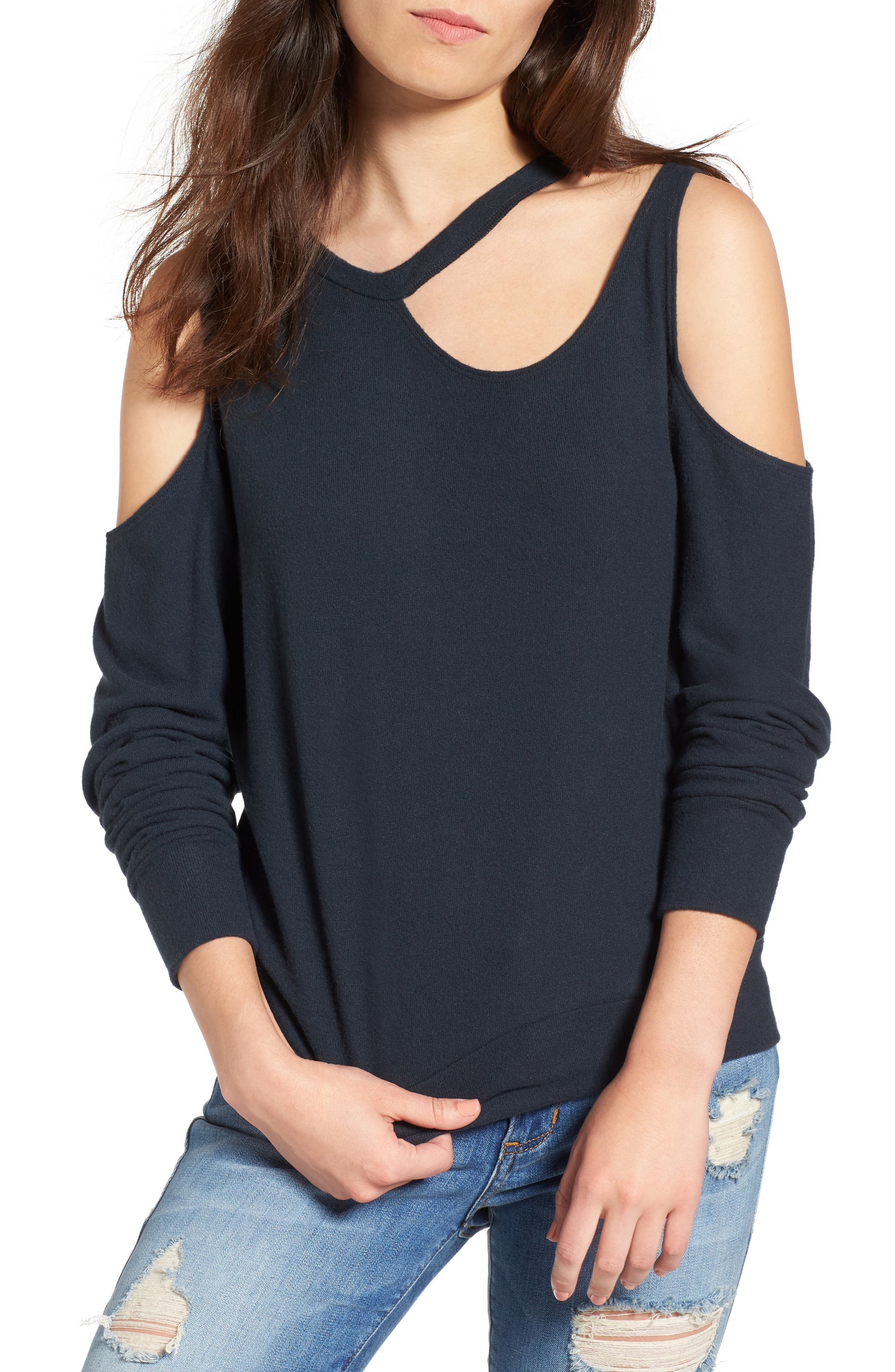 LNA Leon Cutout Sweater