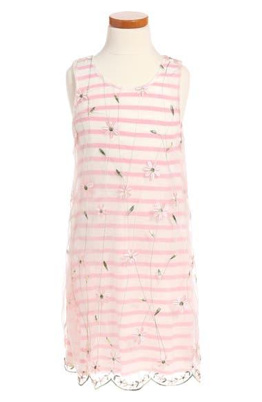 Twirls & Twigs Stripe Dress (Toddler Girls, Little Girls & Big Girls)