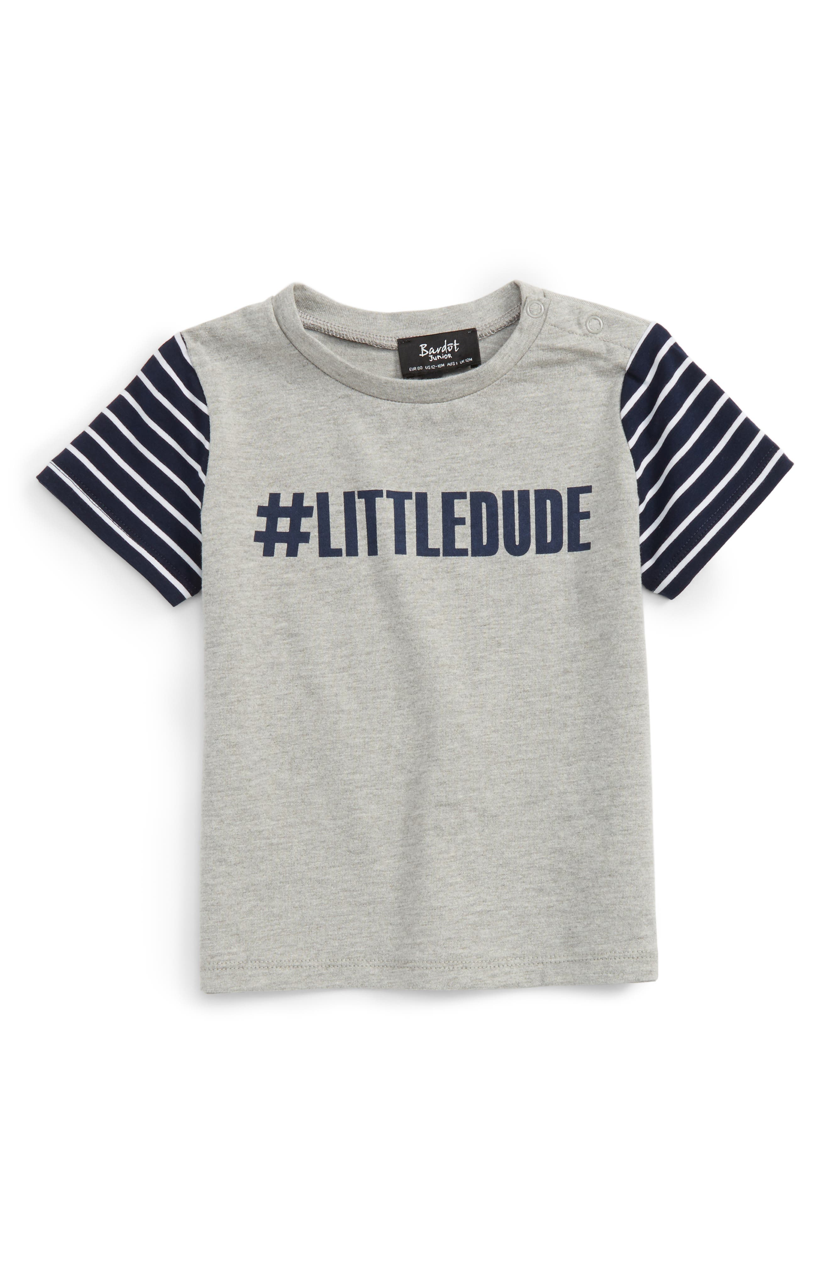 Bardot Junior LittleDude T-Shirt (Baby Boys)