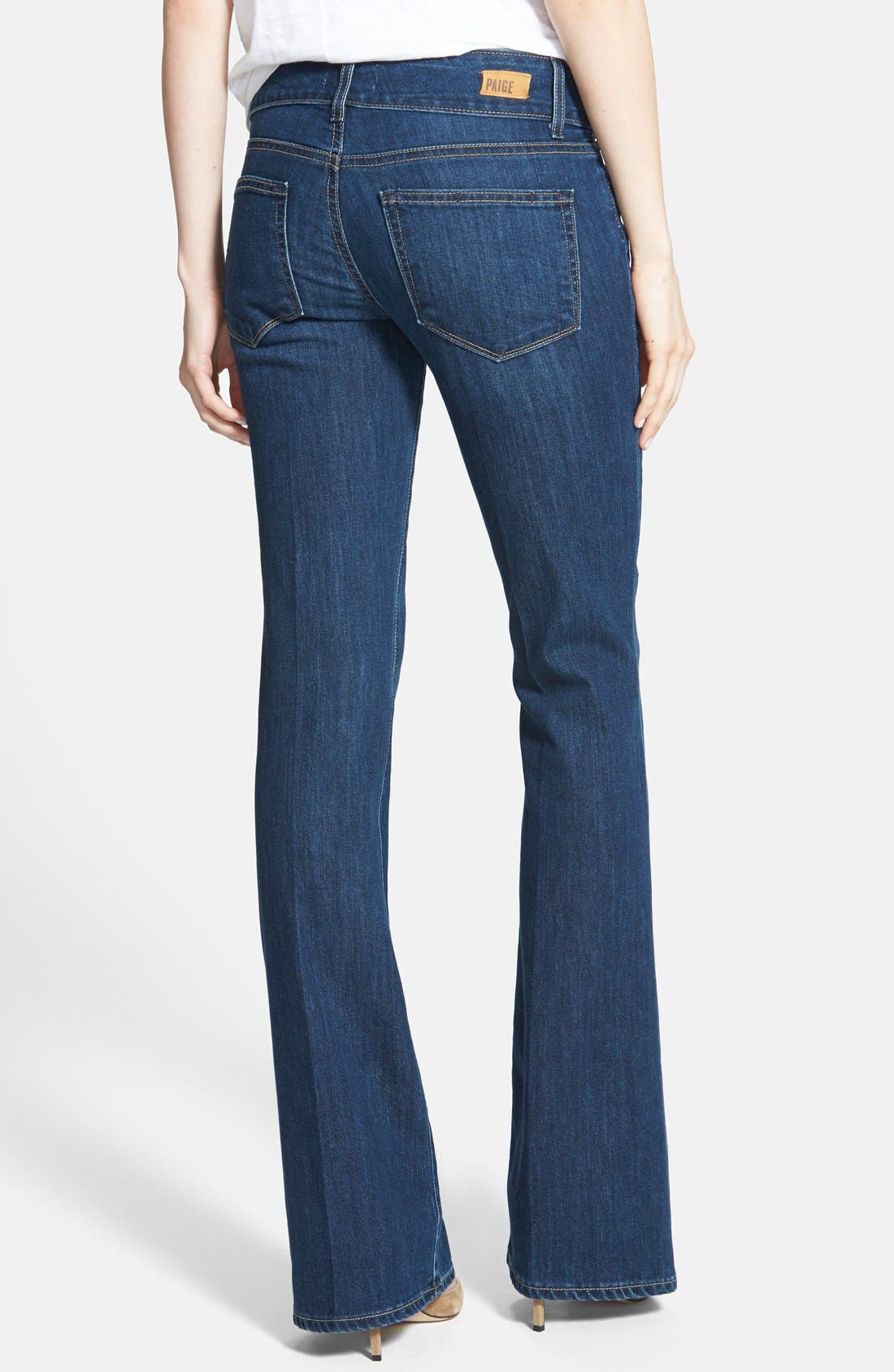 Alternate Image 2  - Paige Denim 'Hidden Hills' Bootcut Jeans (Mischa)