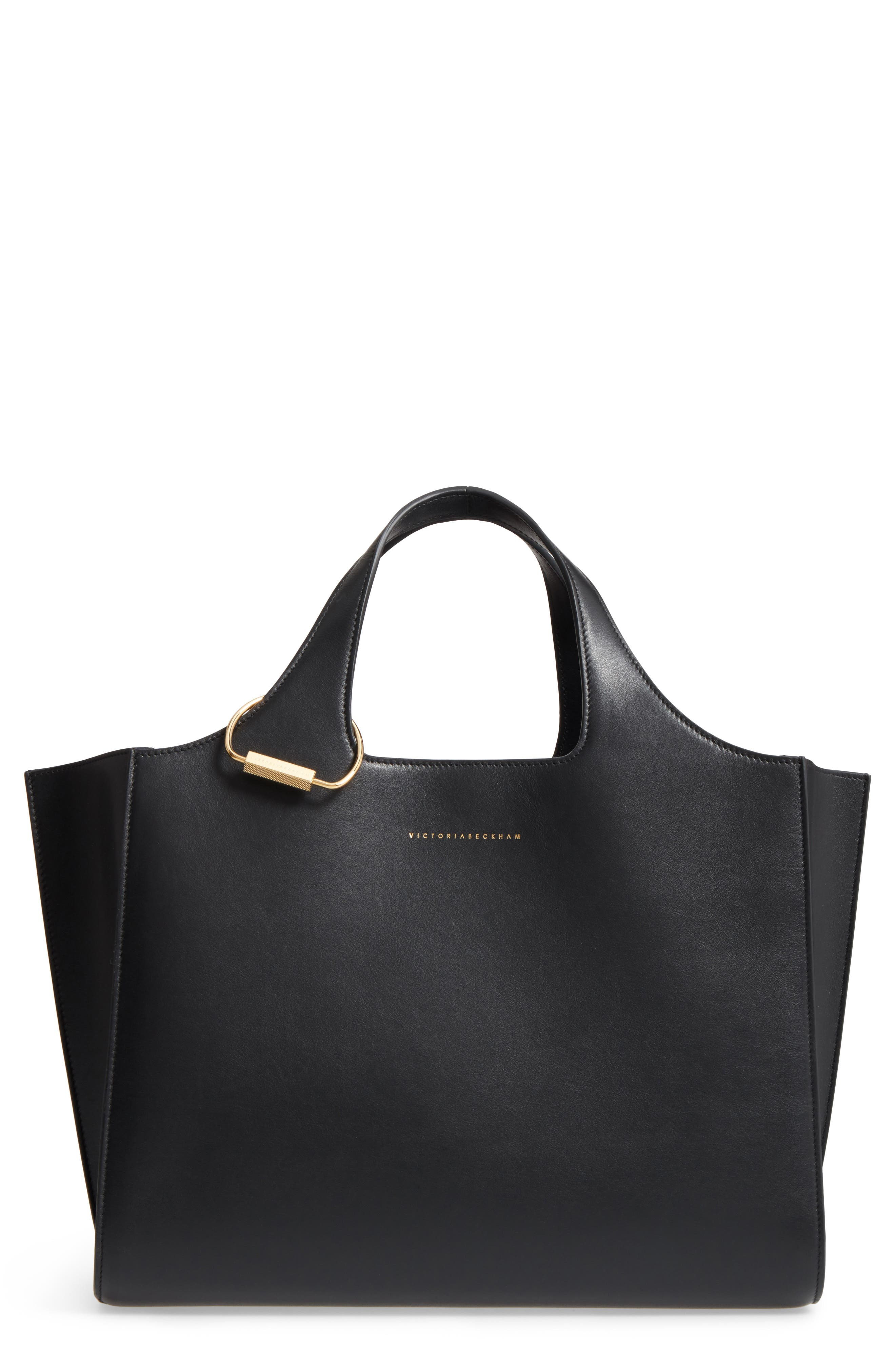 Victoria Beckham Newspaper Leather Tote