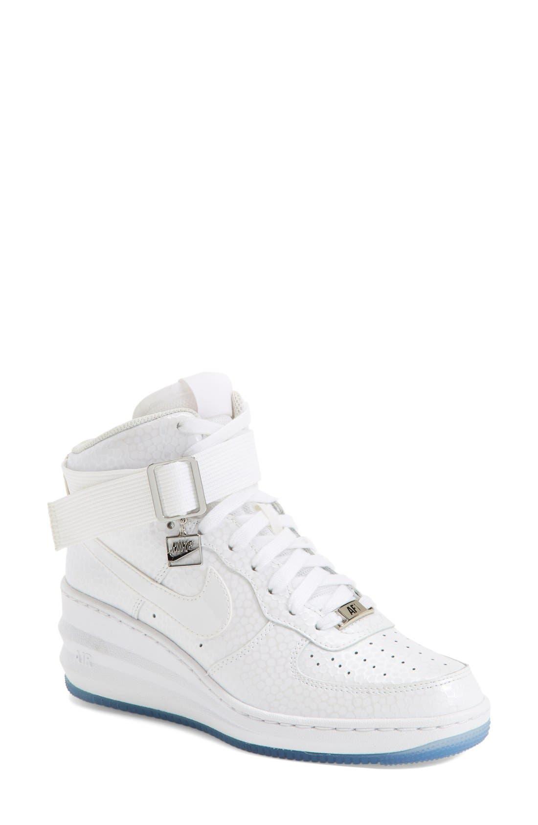 Alternate Image 1 Selected - Nike 'Lunar Force 1 Sky Hi' Sneaker (Women)