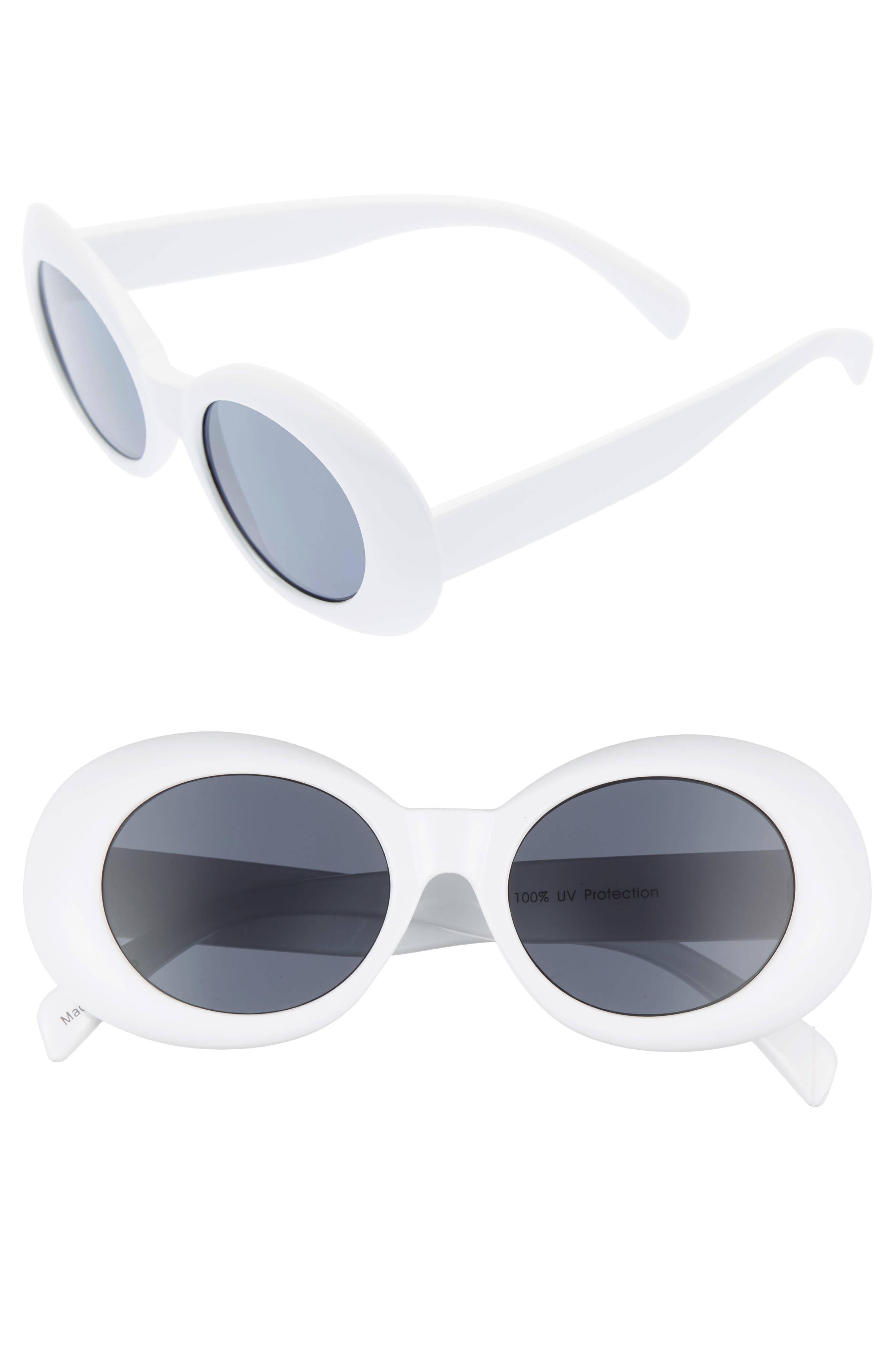 BP. 52mm Oval Sunglasses