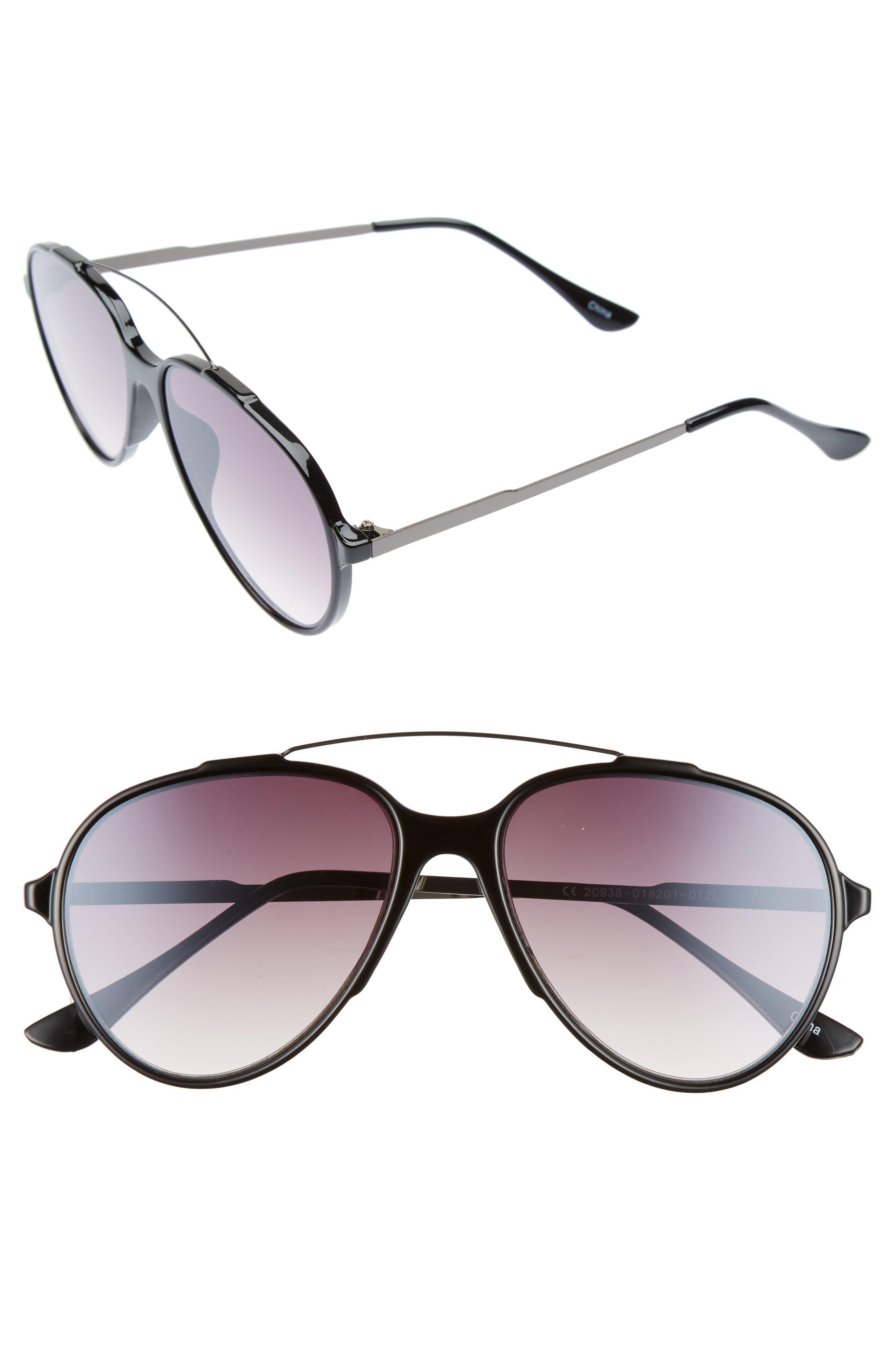 BP. 57mm Aviator Sunglasses