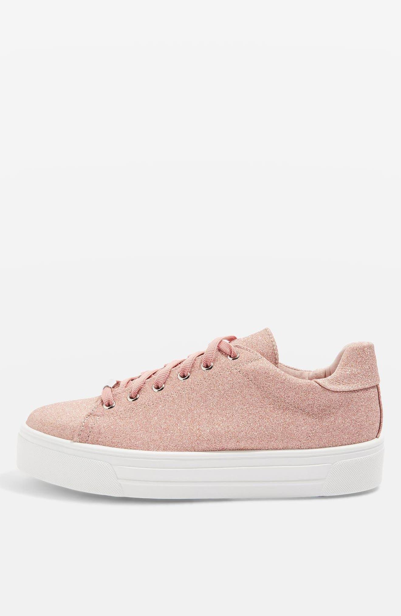 Topshop Commander Platform Sneaker (Women)