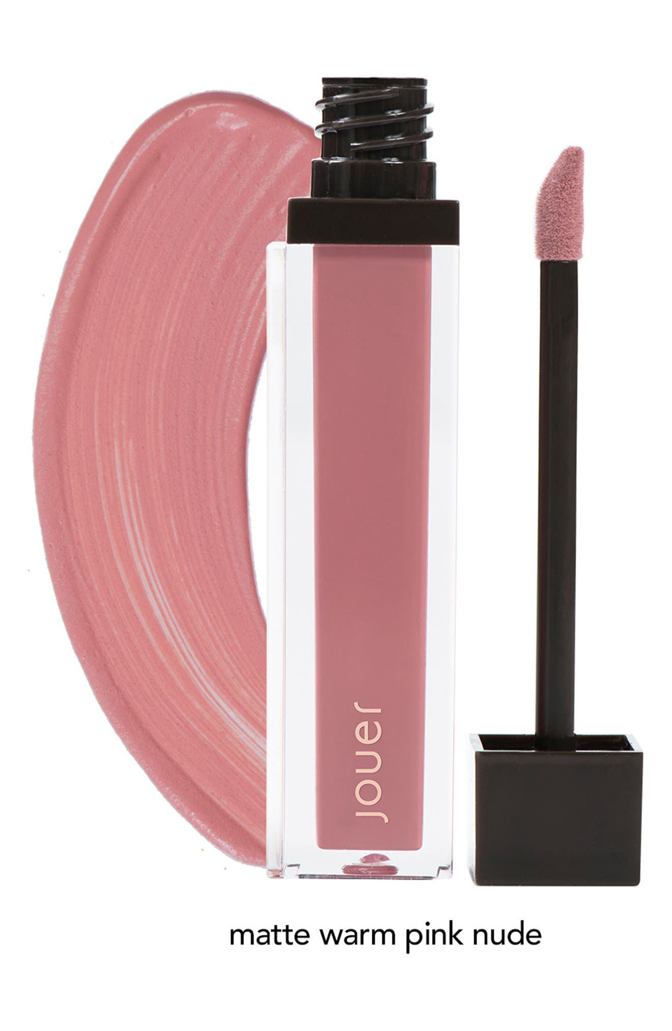 Alternate Image 6  - Jouer Melon & Citronade Rose Long-Wear Lip Crème Liquid Lipstick Duo